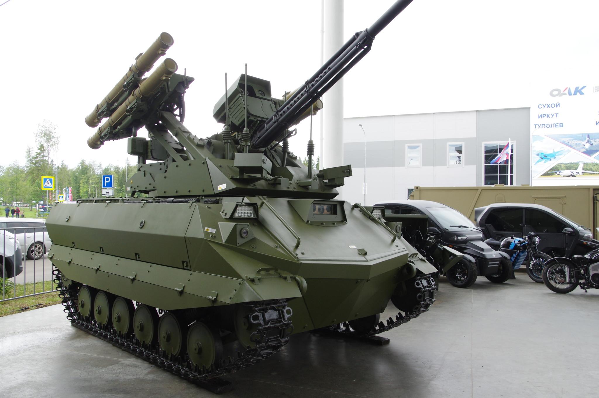 Боевой многофункциональный робототехнический комплекс «Уран-9»