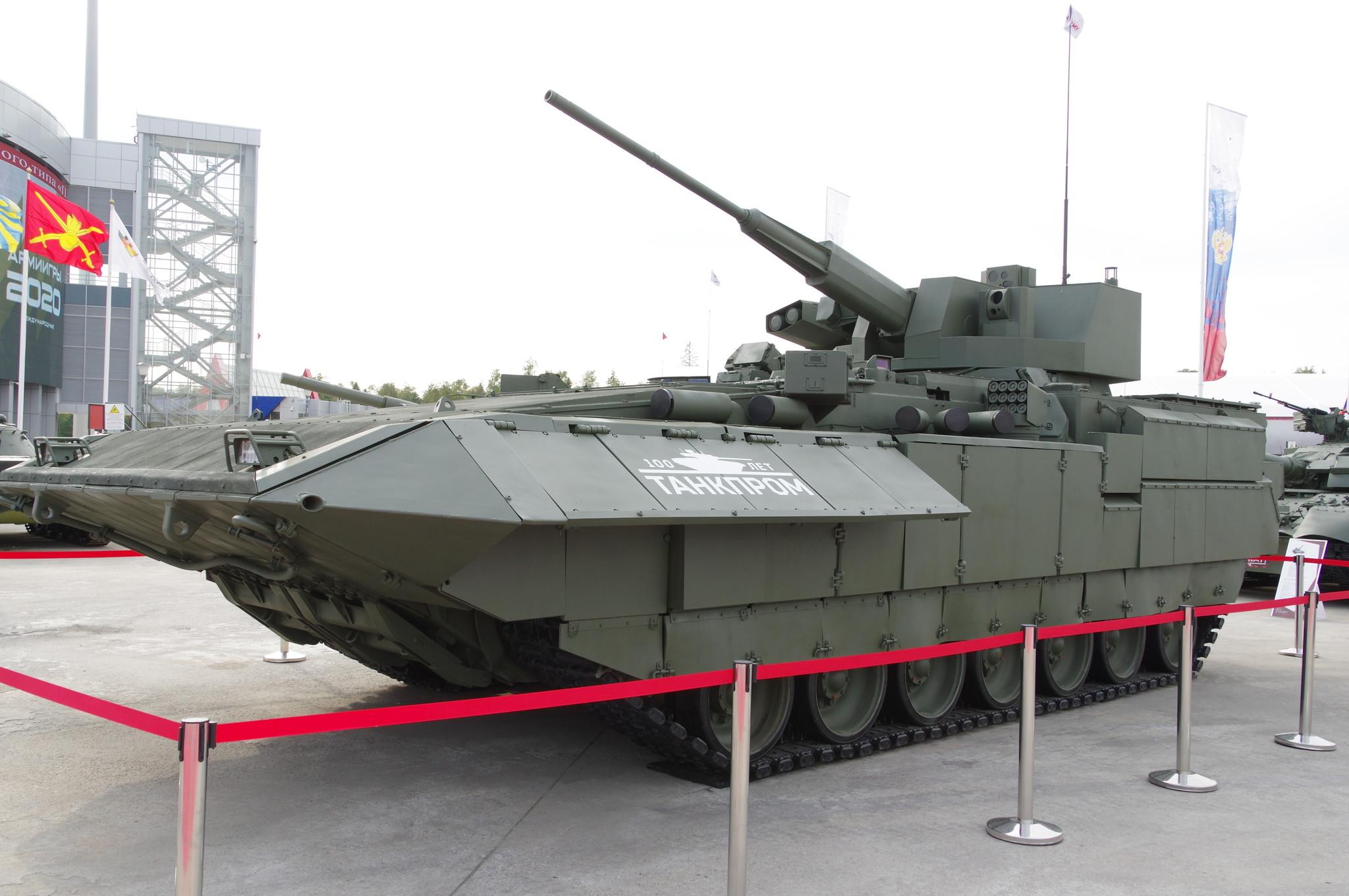 Боевая машина пехоты Т-15