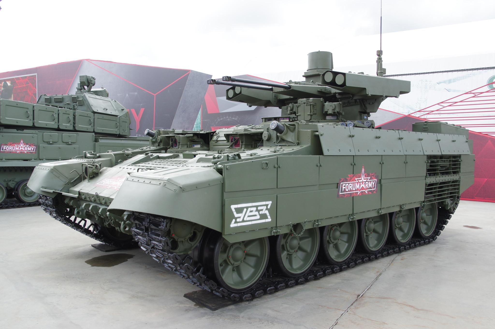 Боевая машина поддержки танков БМПТ