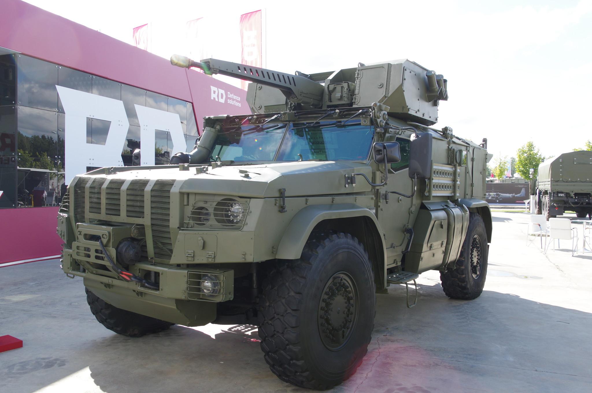 Бронированный автомобиль специального назначения «Тайфун-ВДВ»