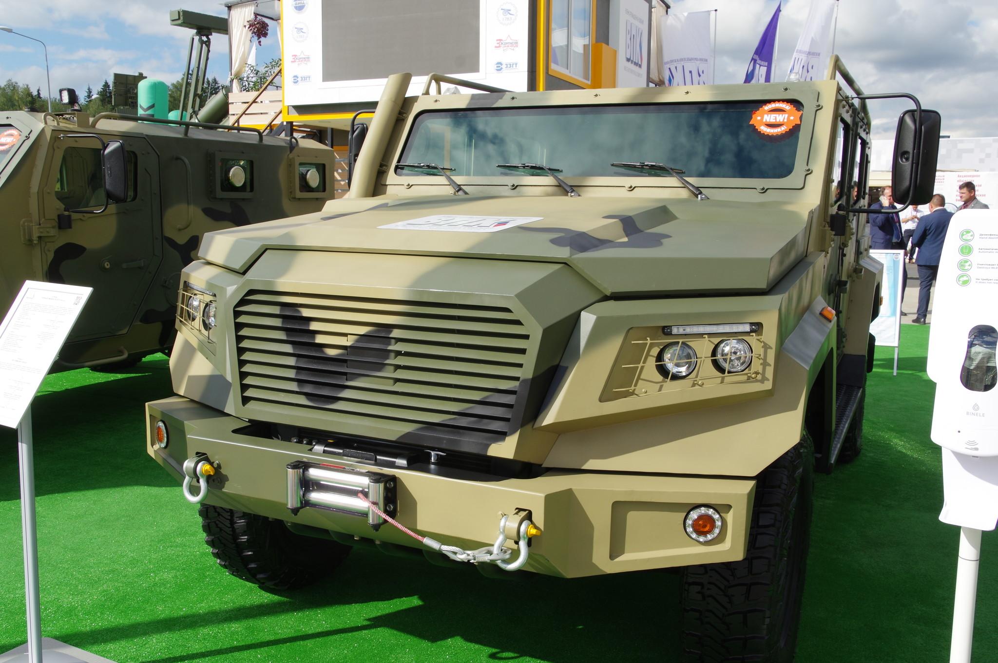 Бронеавтомобиль лёгкого класса «Стрела»
