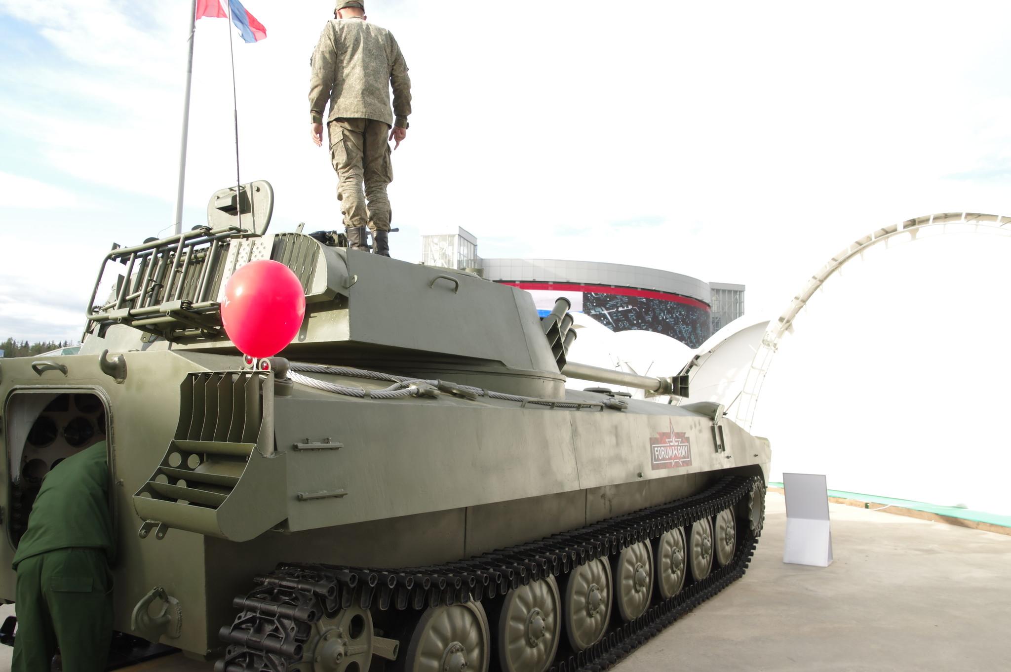 120-мм самоходное артиллерийское орудие 2С34 «Хоста»