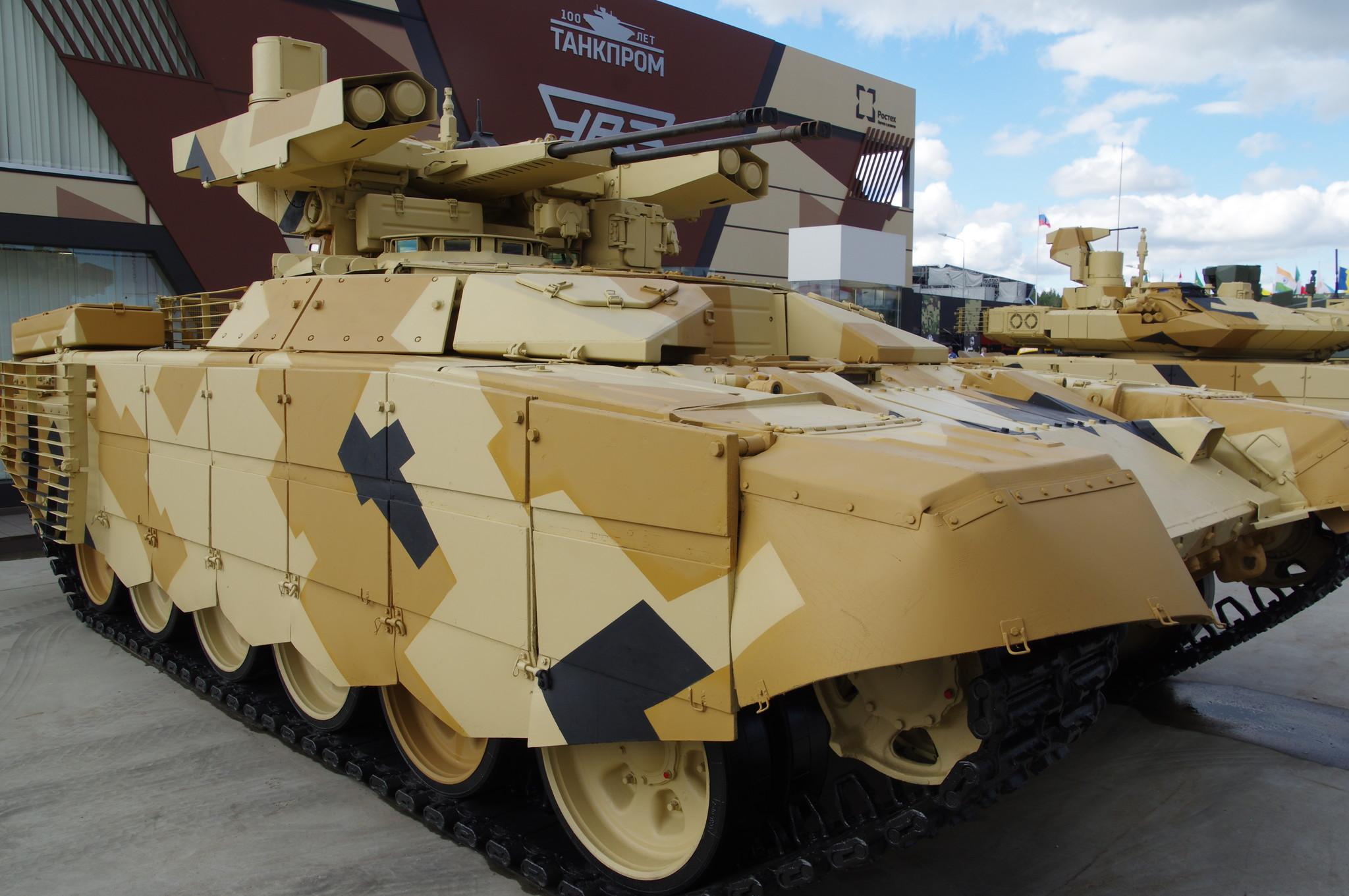 Боевая машина поддержки танков БМПТ «Терминатор-2»