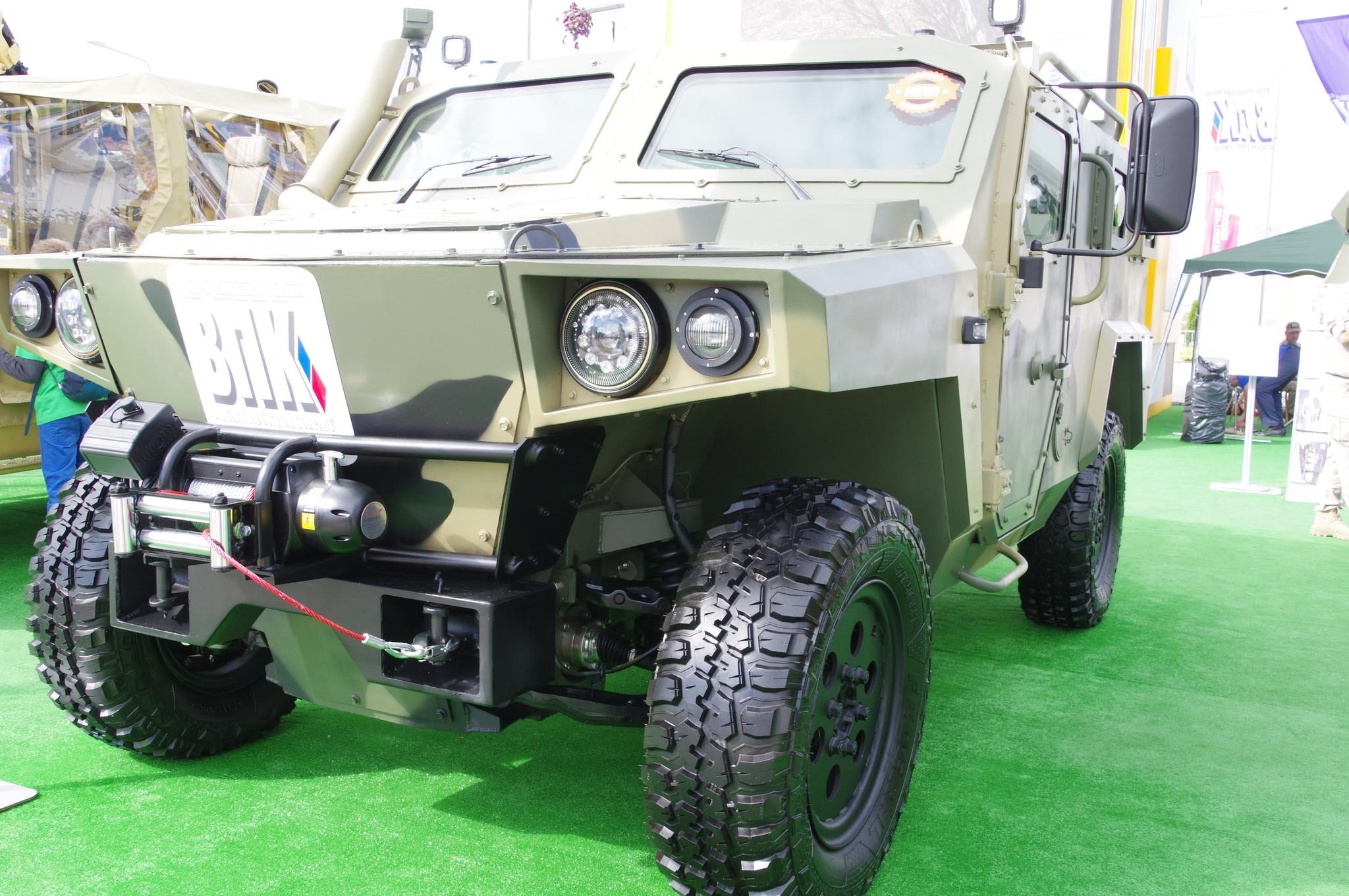 Защищённый автомобиль-амфибия «Стрела»