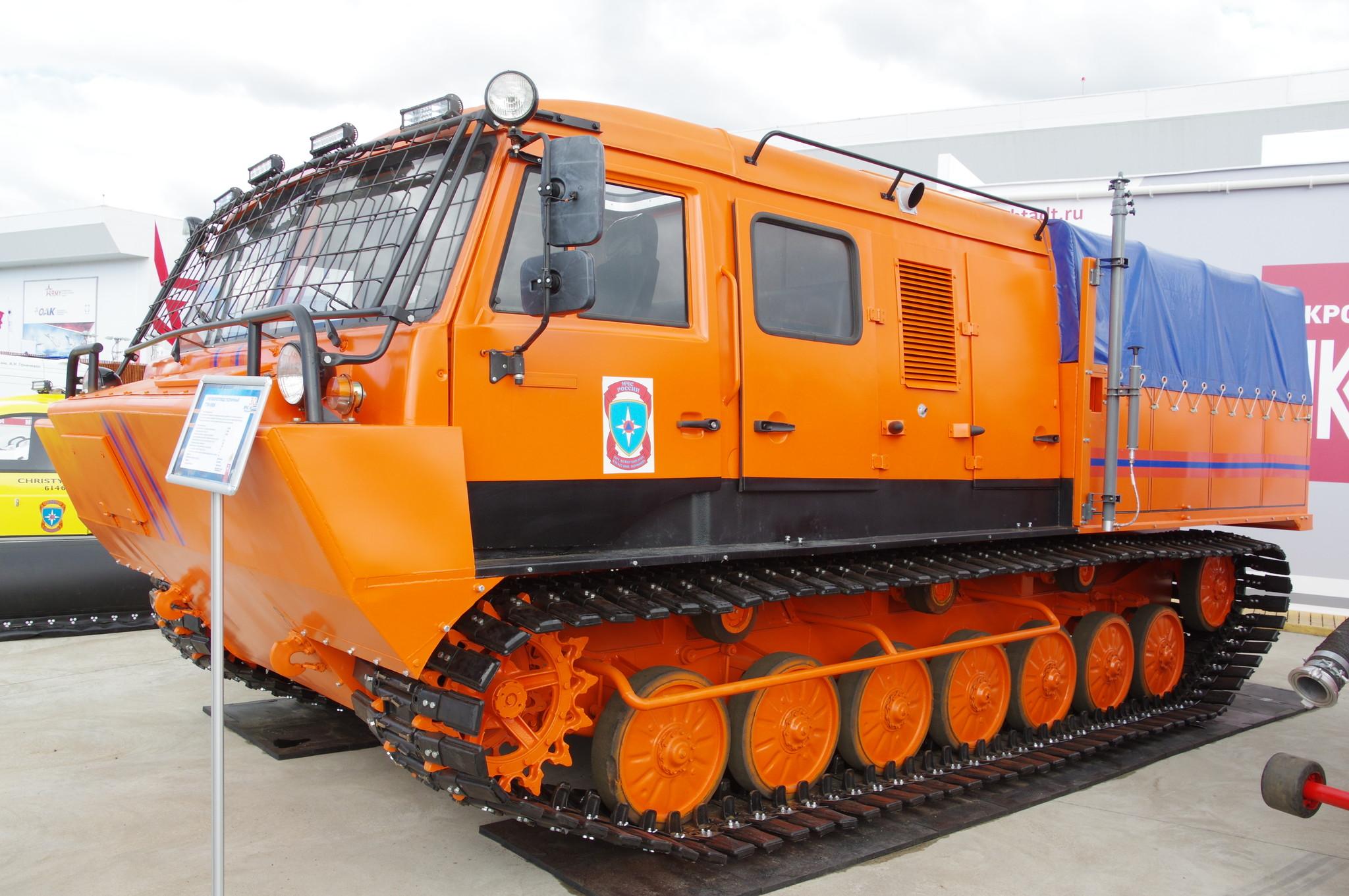 Снегоболотоход гусеничный ТТМ-5906