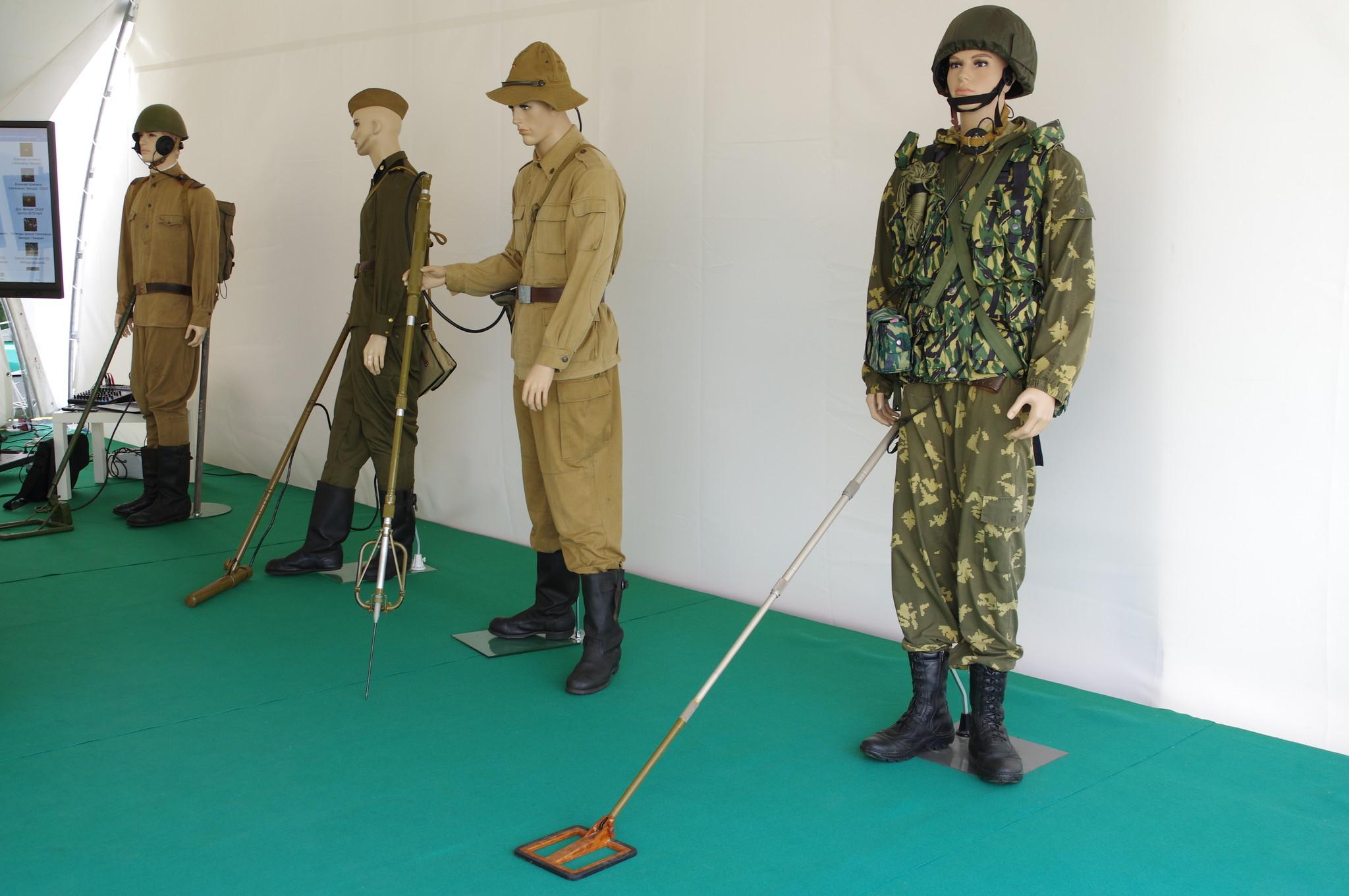 Экспозиция инженерных войск Вооружённых Сил Российской Федерации