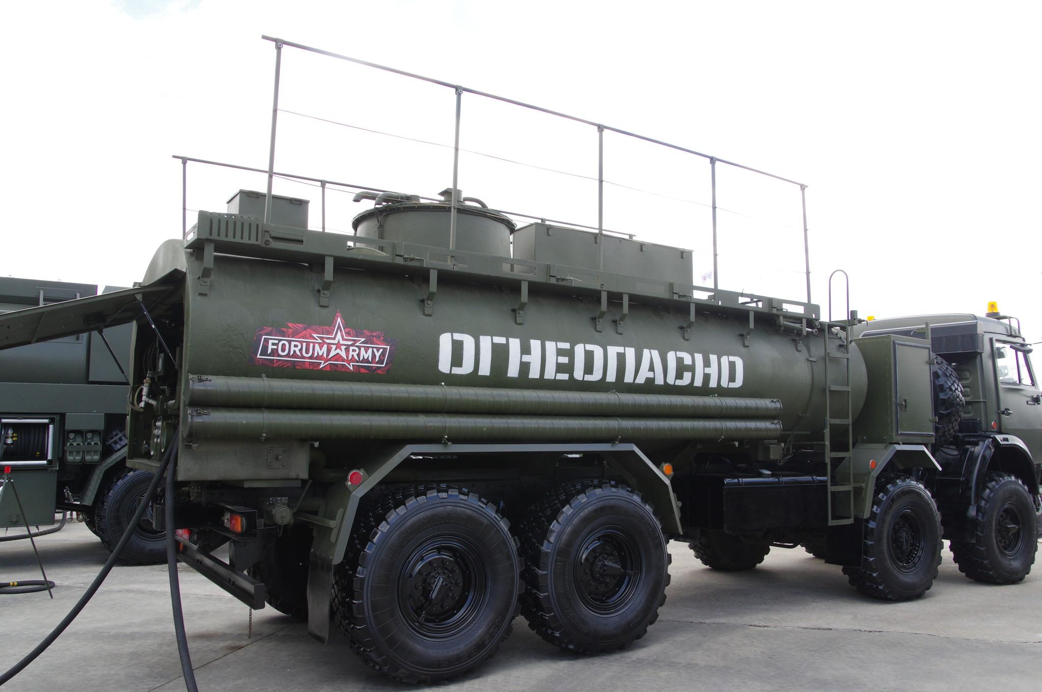 Автомобильная цистерна для горючего АЦ-14-63501