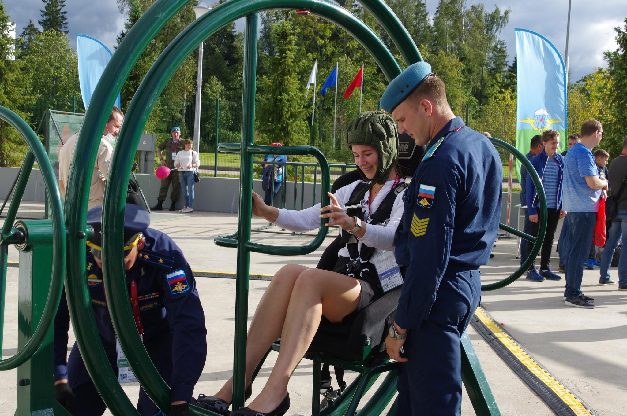 Тренажёры Воздушно-десантных войск