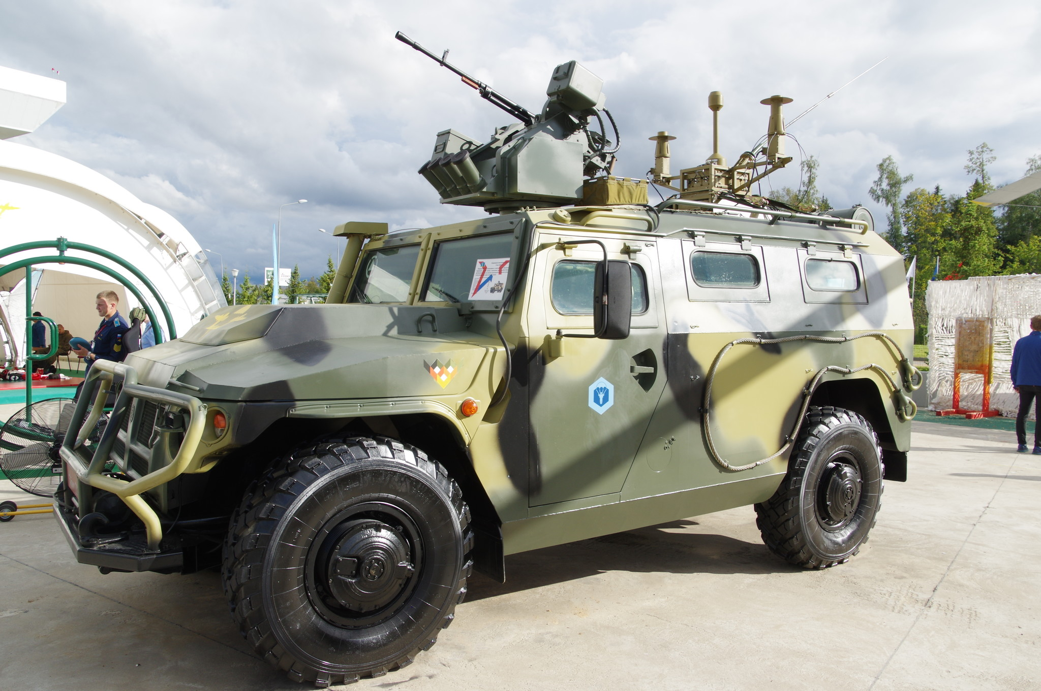 Специальное транспортное средство «Тигр-Арбалет»