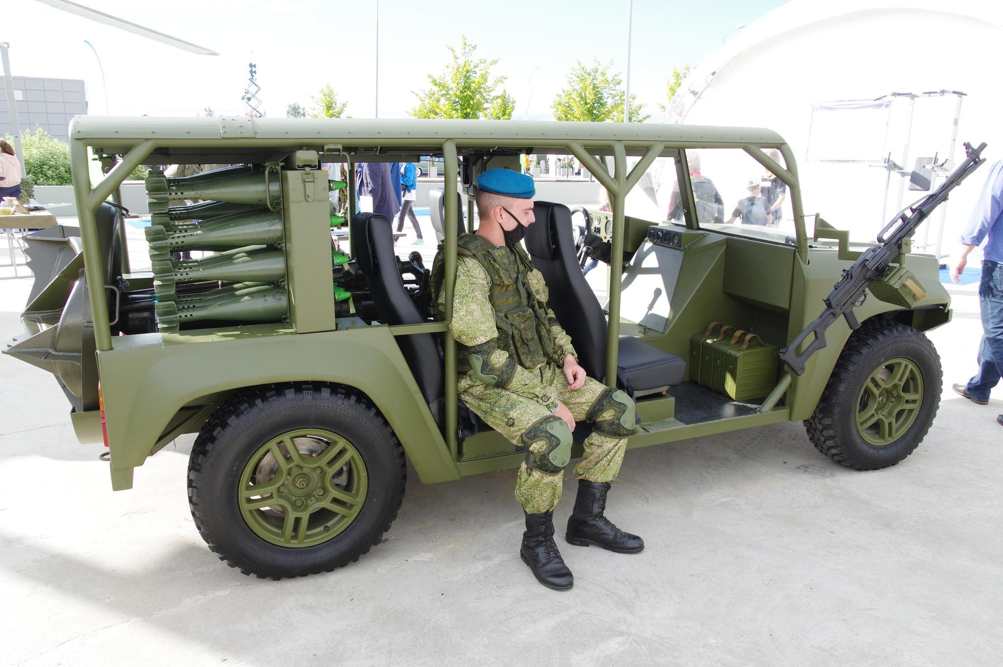 Специальное транспортное средство «Многоцелевой аэромобильный автомобиль»