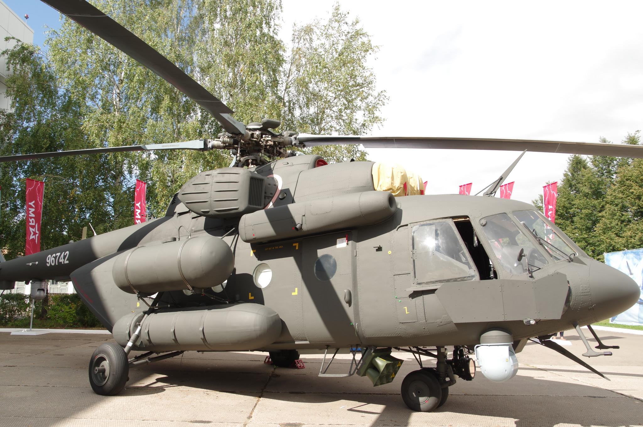 Военно-транспортный вертолёт Ми-17V-5