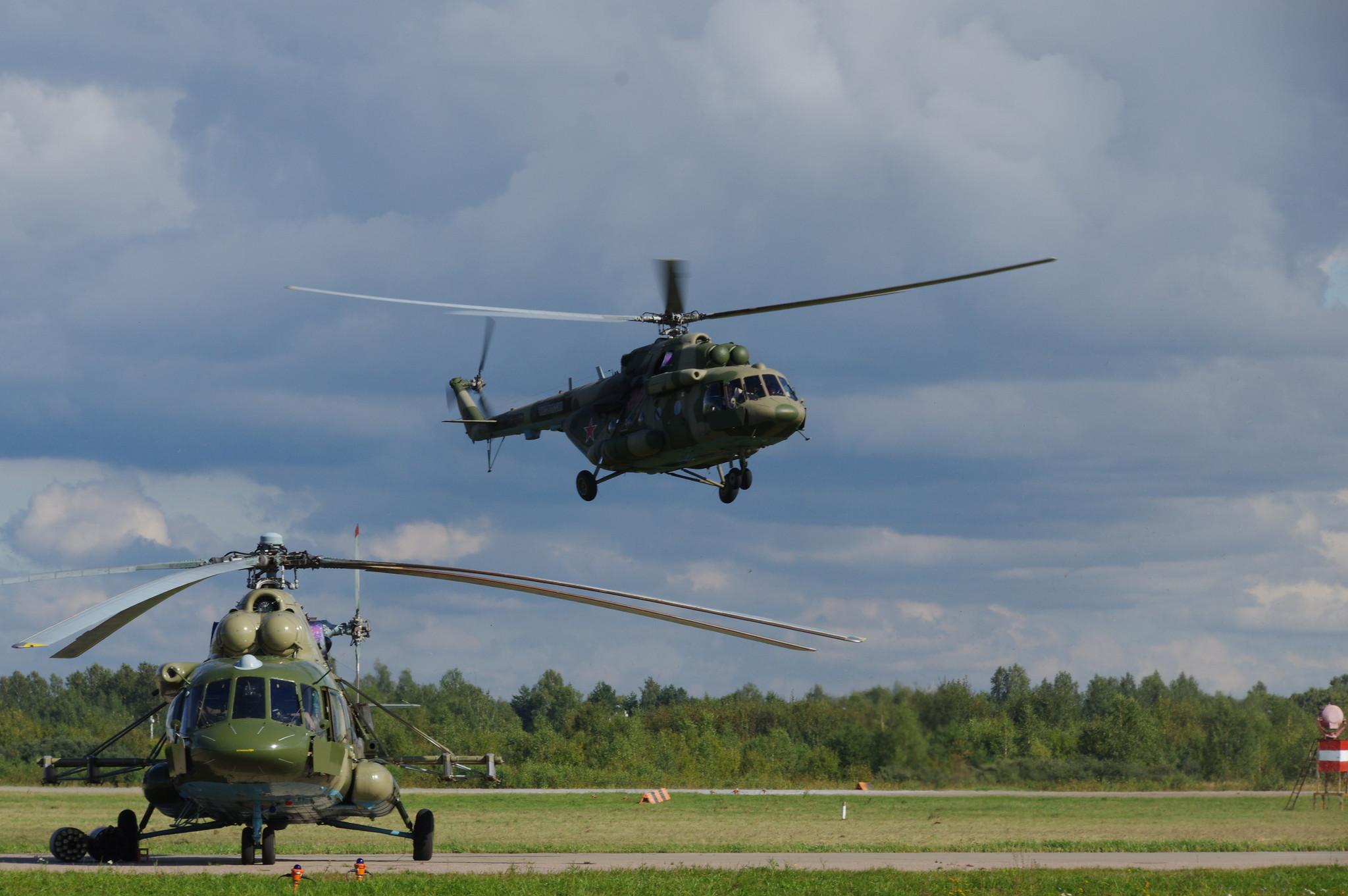 Вертолёты Ми-8АМТШ