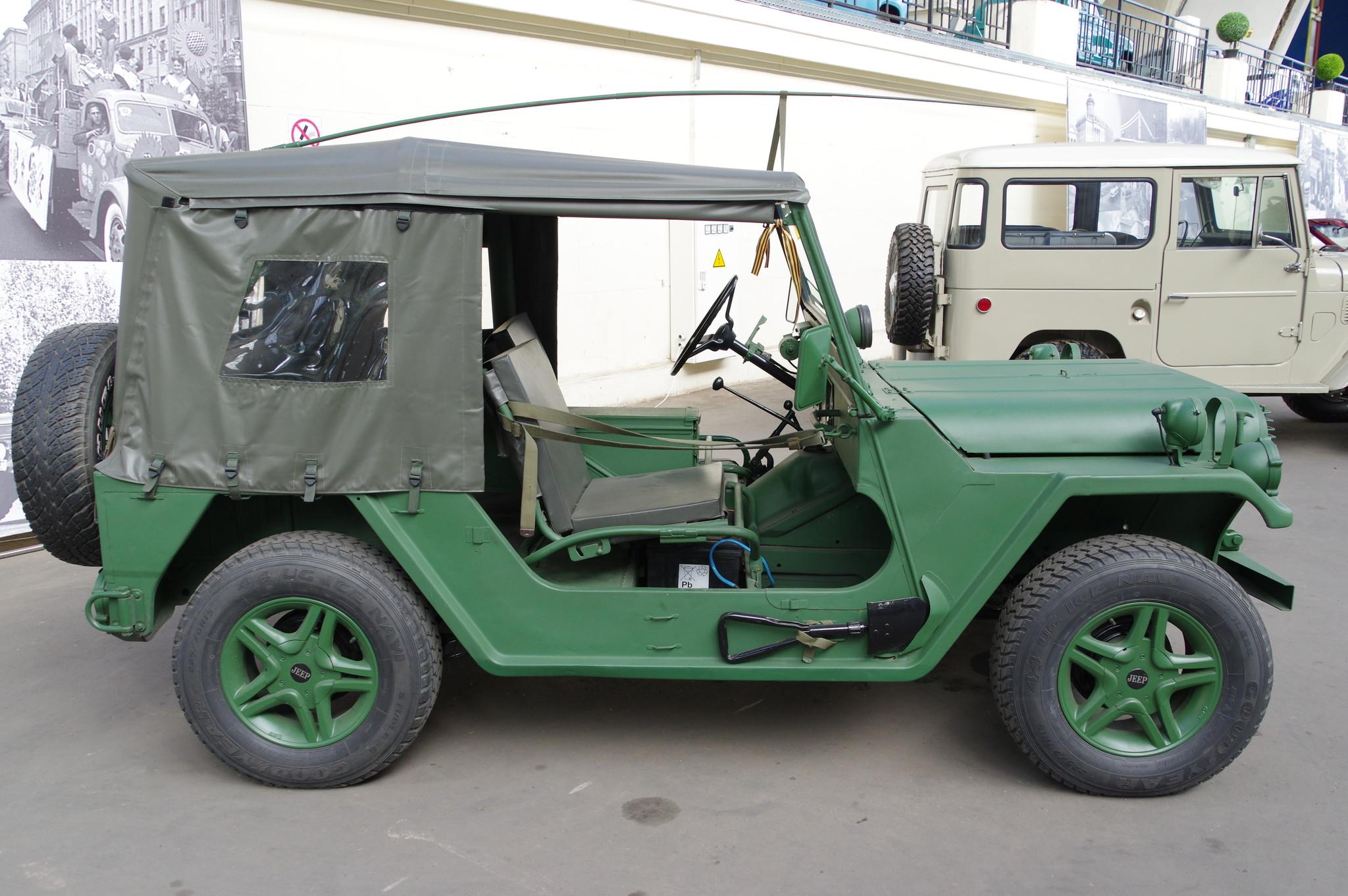 Автомобиль Ford-M151A2 MUTT