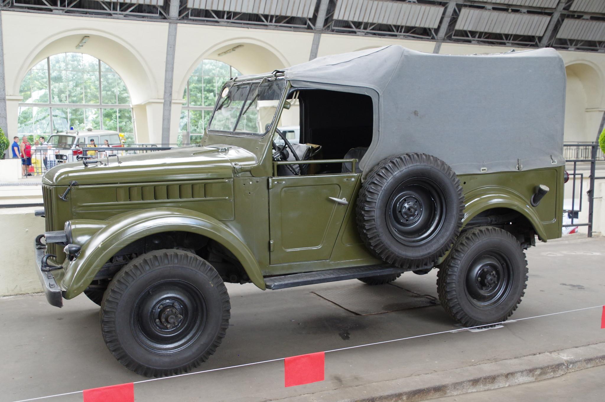 ГАЗ-69 - легковой автомобиль повышенной проходимости