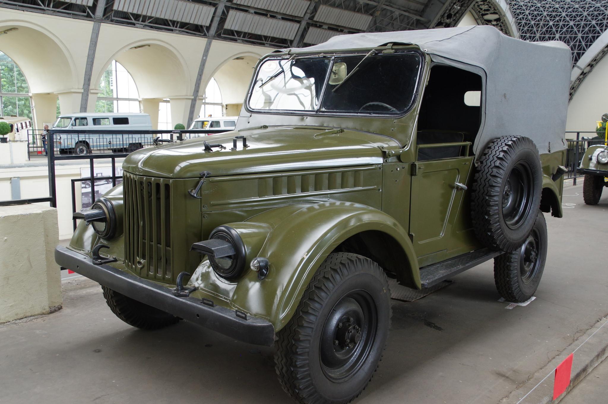 Легковой автомобиль повышенной проходимости ГАЗ-69