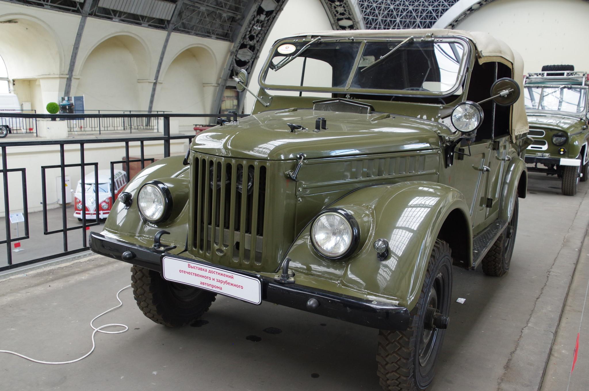 Легковой автомобиль повышенной проходимости ГАЗ-69А