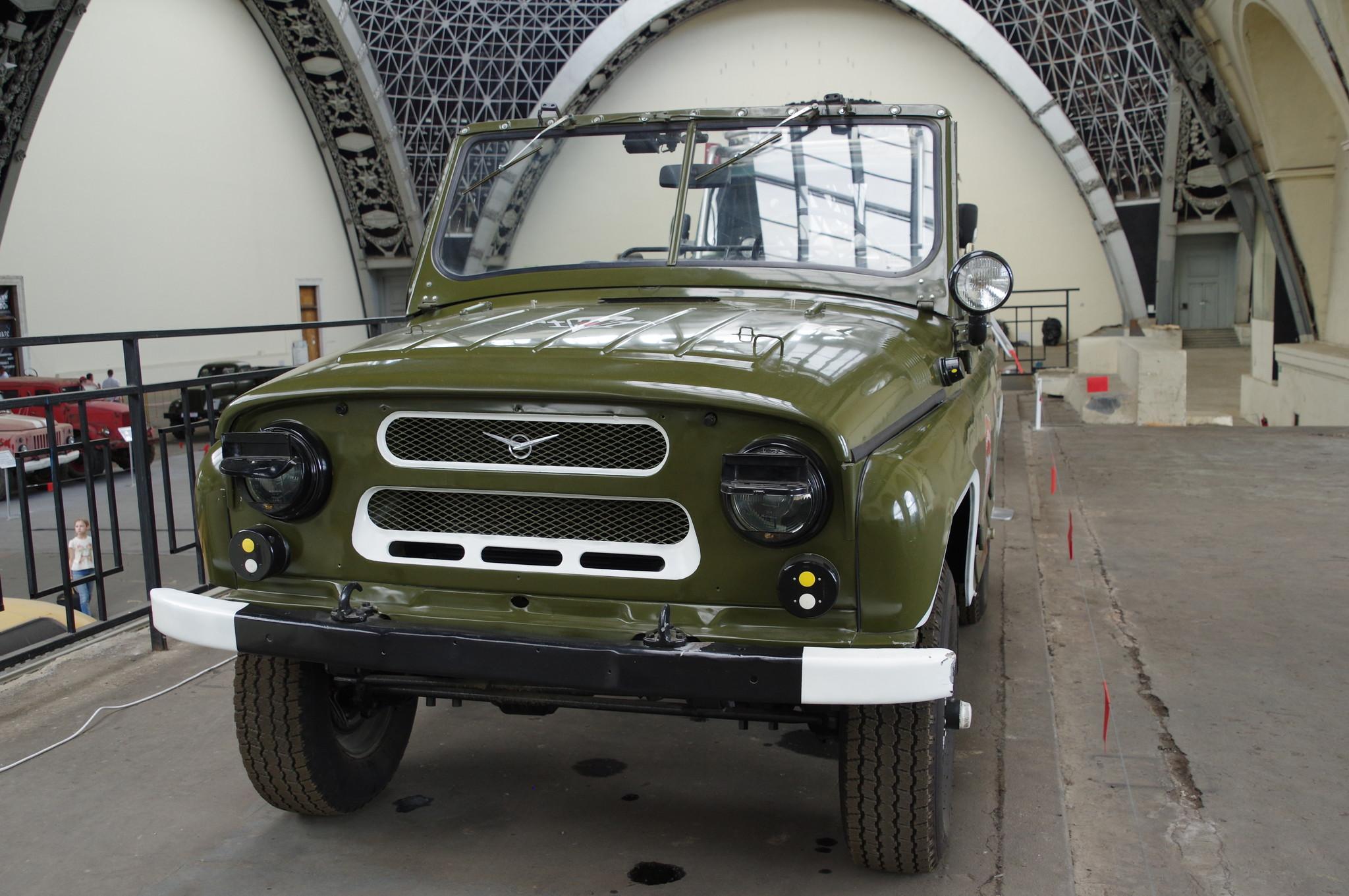 Автомобиль повышенной проходимости УАЗ-469