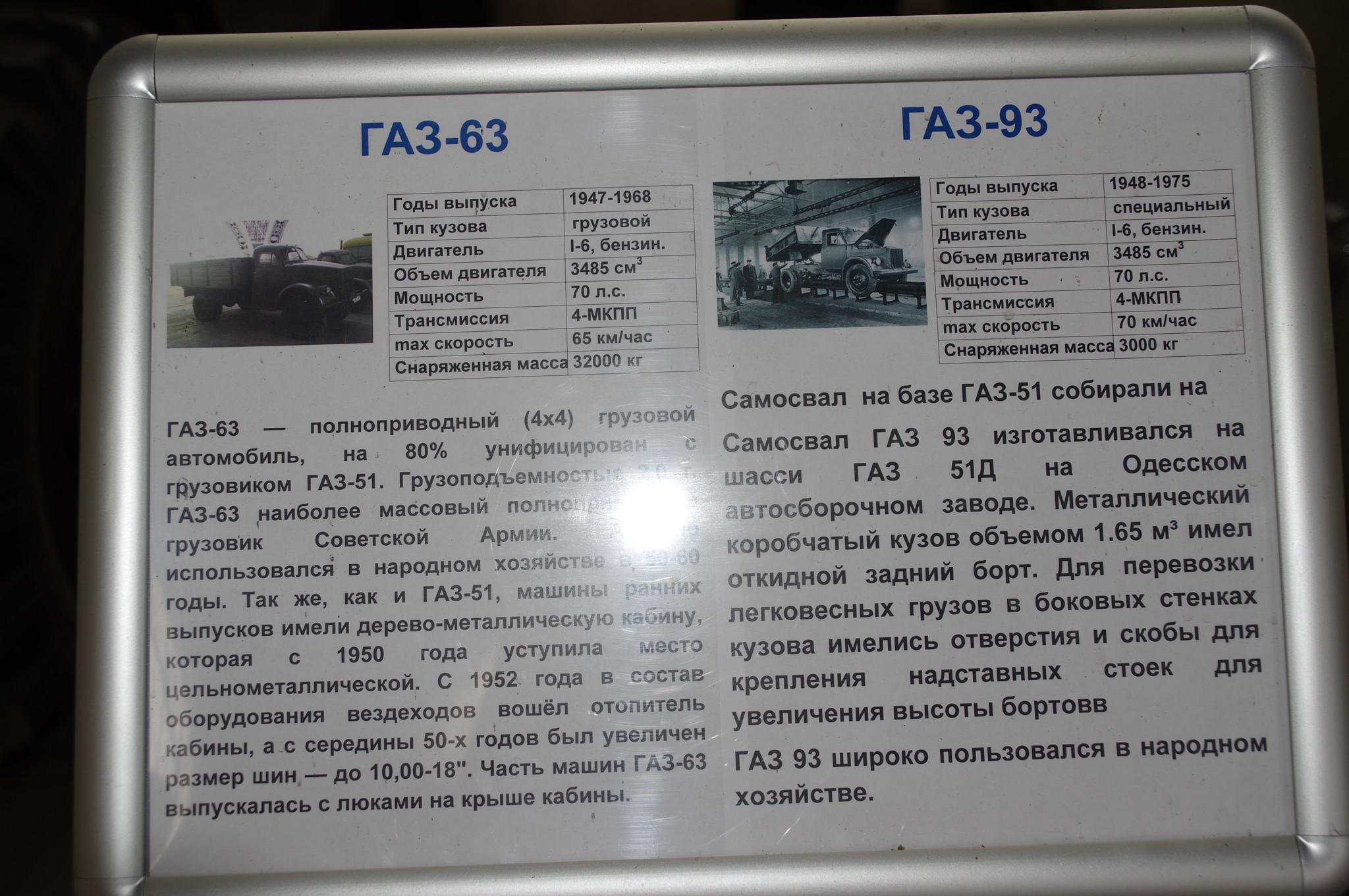 Автомобиль-самосвал ГАЗ-93