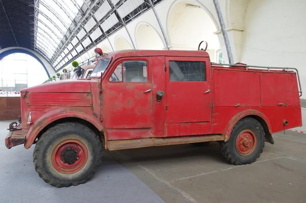 Пожарная машина на шасси ГАЗ-51