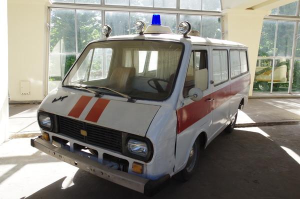 Автомобиль скорой медицинской помощи на базе РАФ-2203