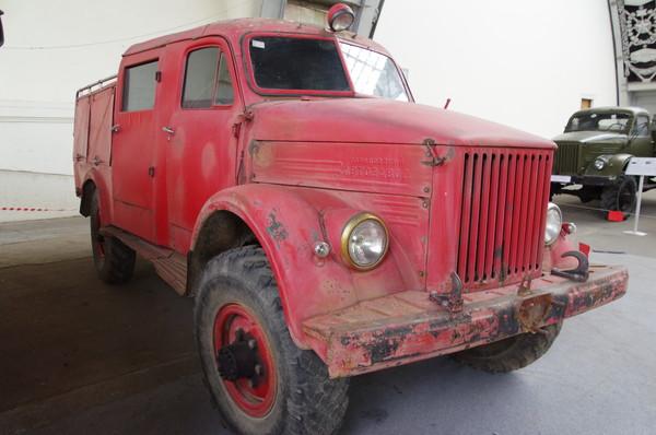 Пожарный автомобиль на шасси ГАЗ-51