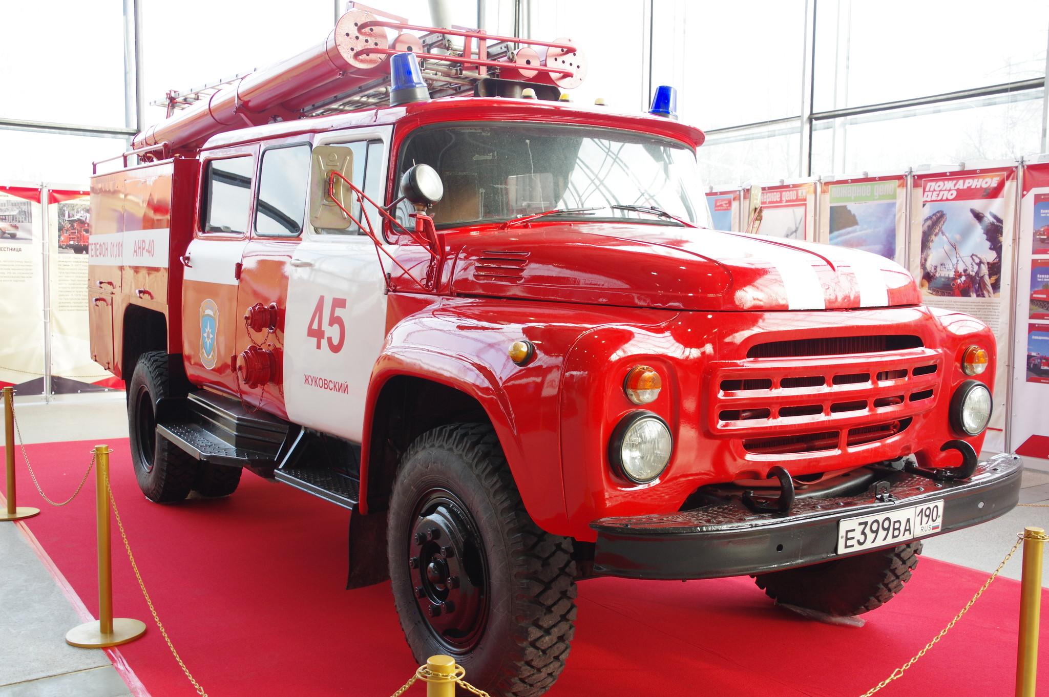 Пожарный насосно-рукавный автомобиль АНР-40 (130) 127Б