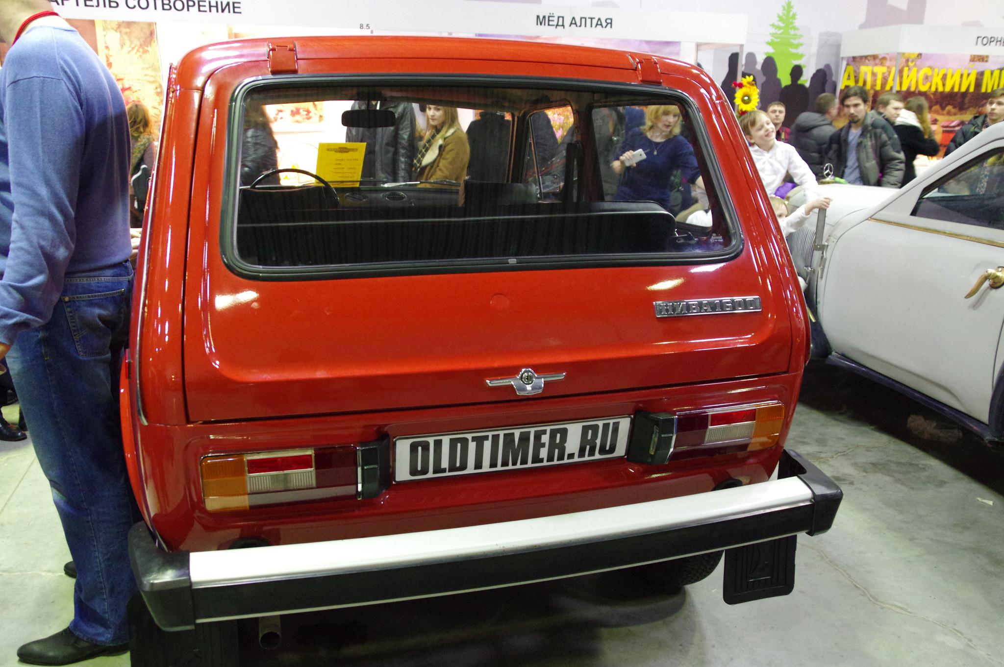 Легковой автомобиль повышенной проходимости ВАЗ-2121 «Нива»
