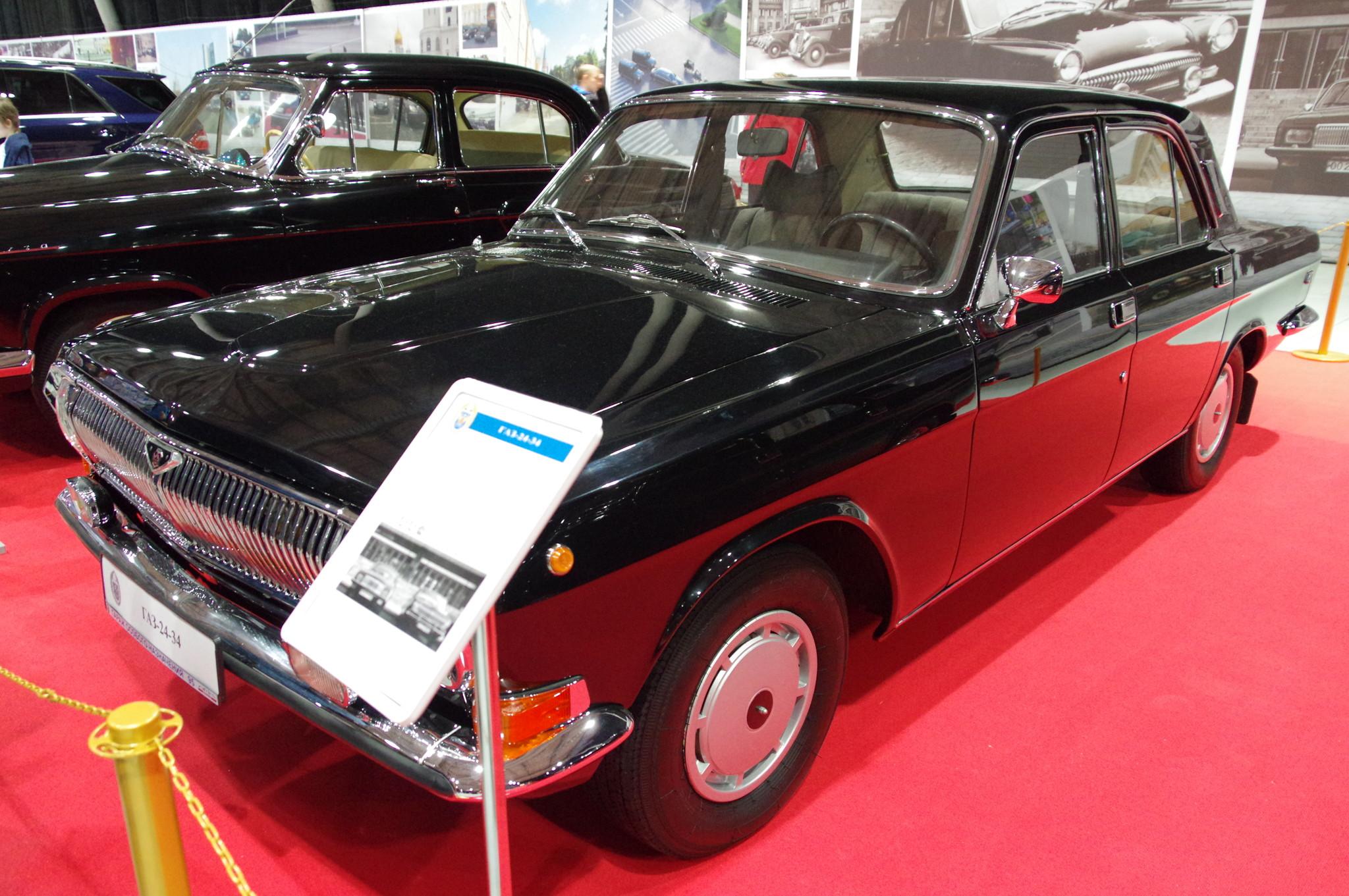 Автомобиль ГАЗ-24-34 «Волга»