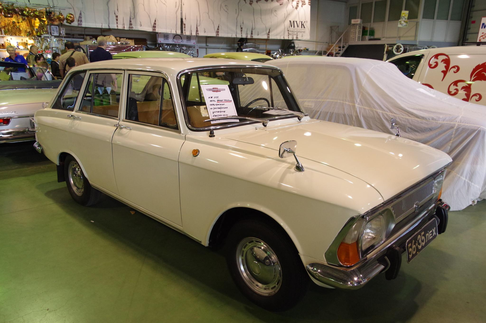Автомобиль Иж-2125 «Комби» 1977 года выпуска