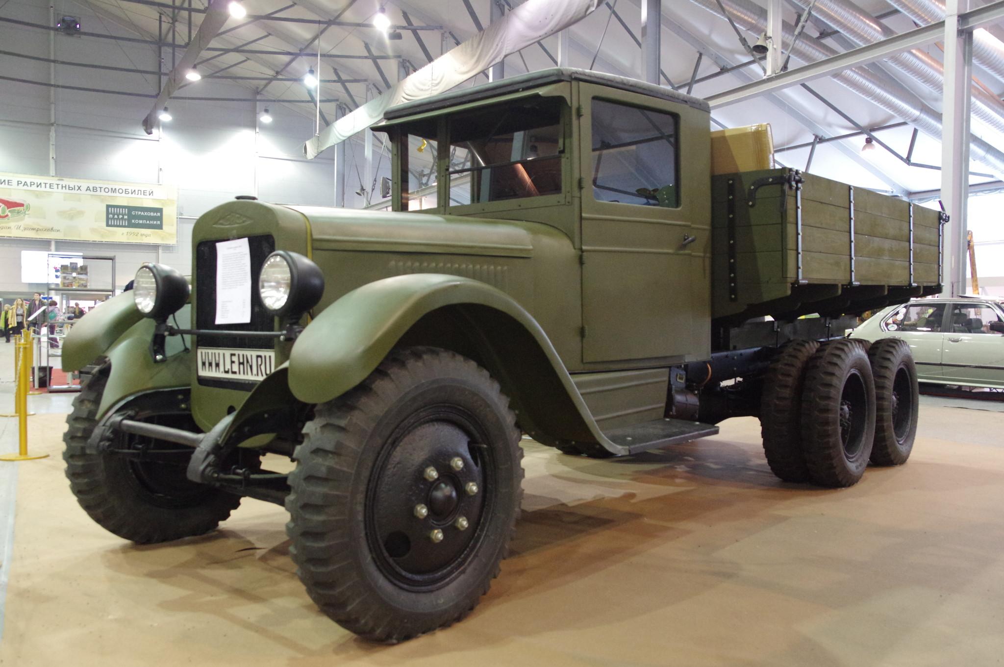 Грузовой автомобиль ЗИС-6