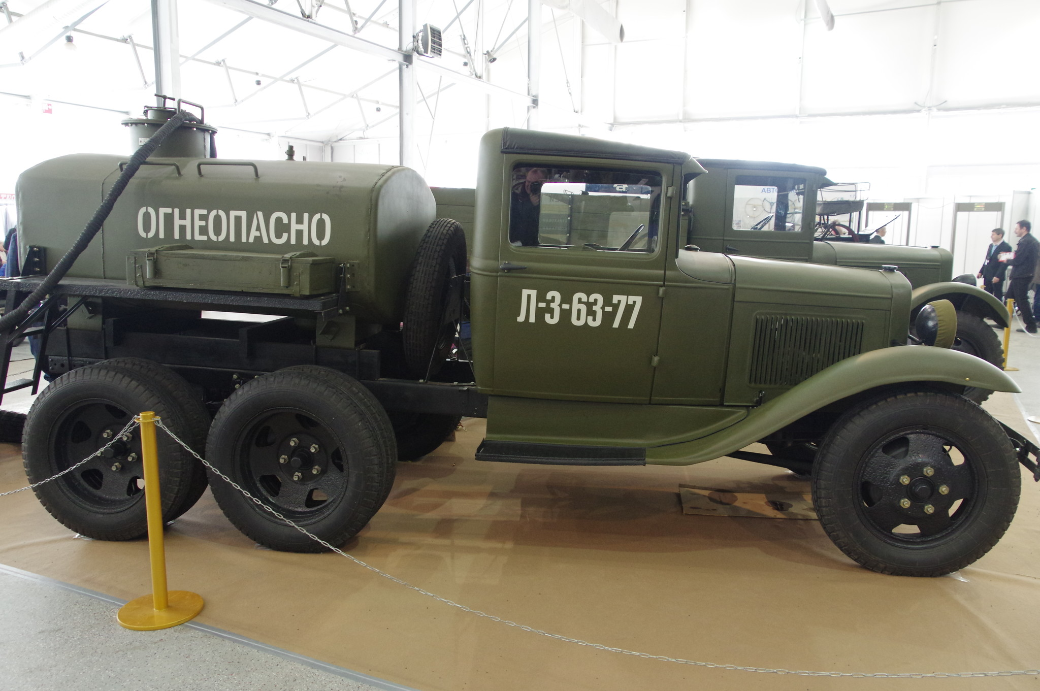 Заправщик на базе грузового автомобиля ГАЗ-ААА