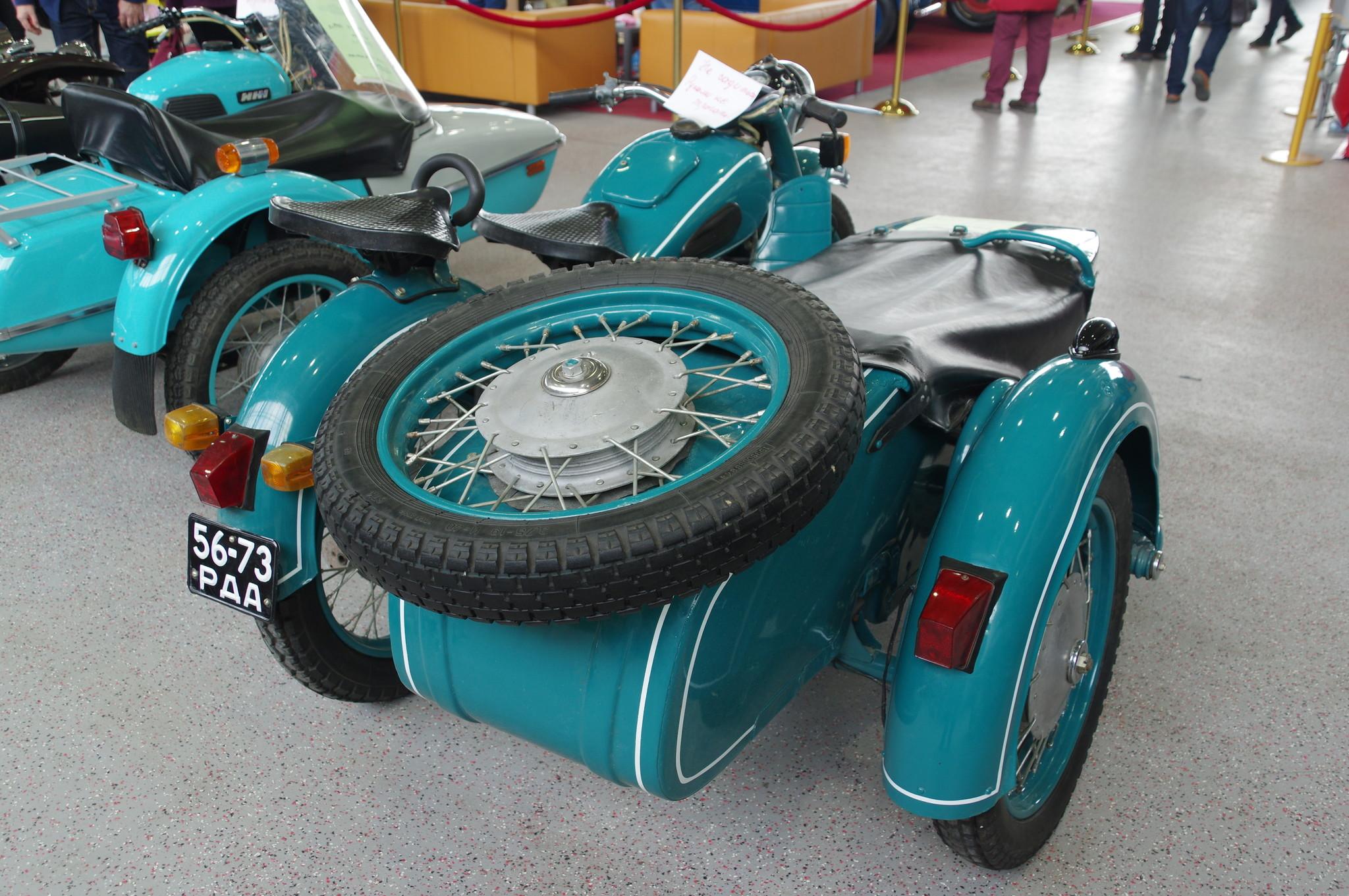 Тяжёлый мотоцикл МТ-9 1972 года выпуска