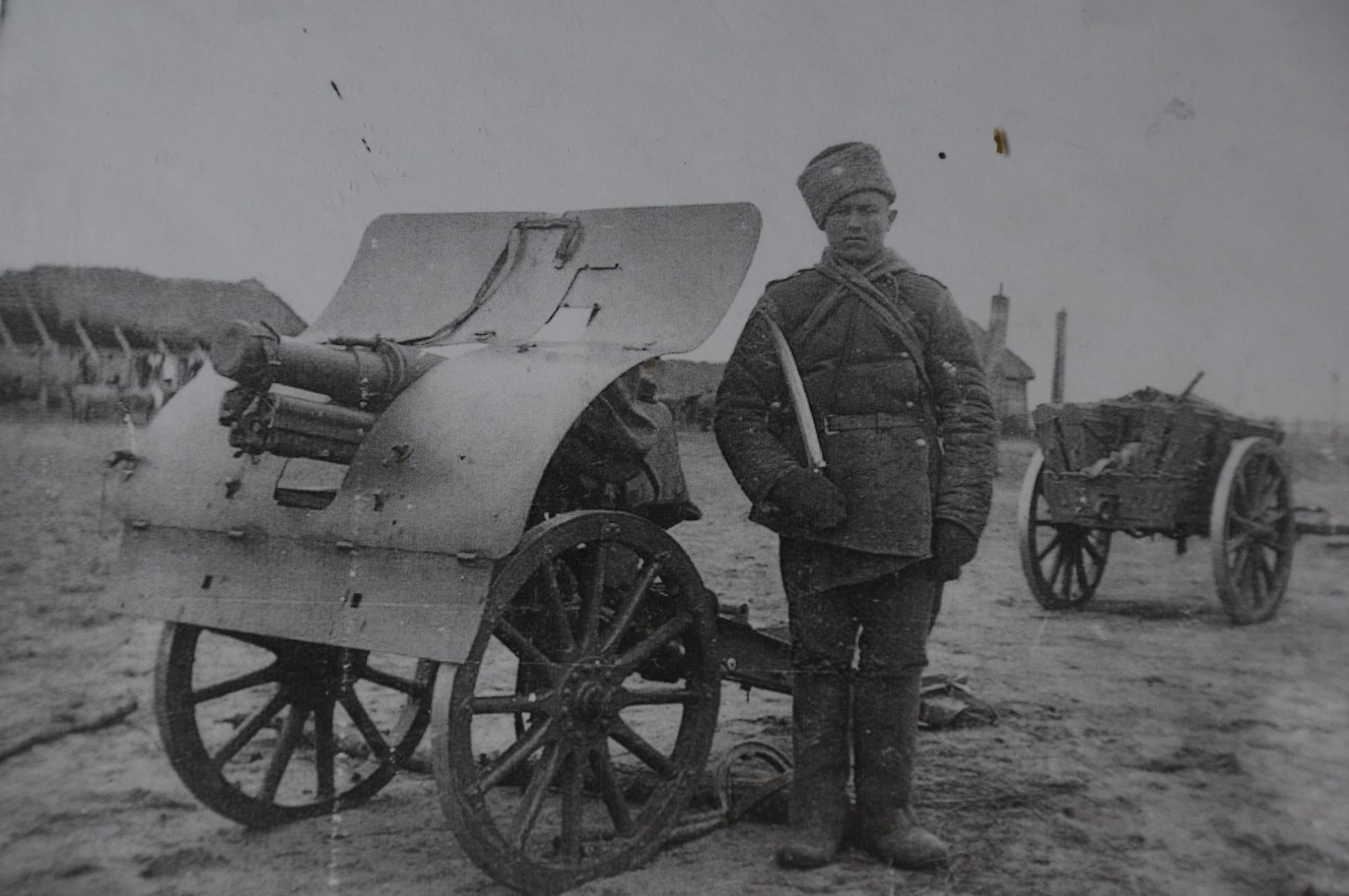 76-мм скорострельная горная пушка системы «Данглиз-Шнейдер» образца 1909 г.