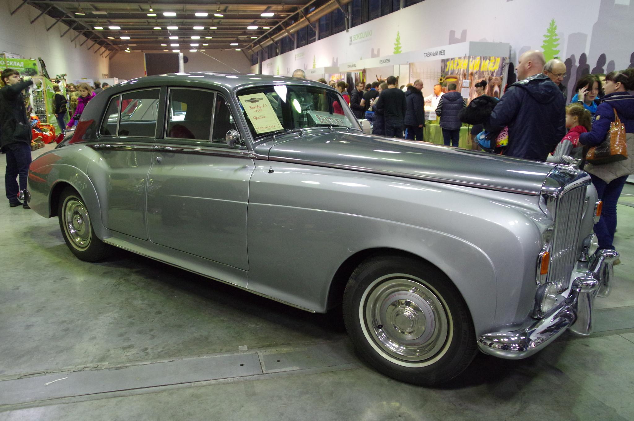 Автомобиль Bentley S3 1964 года выпуска