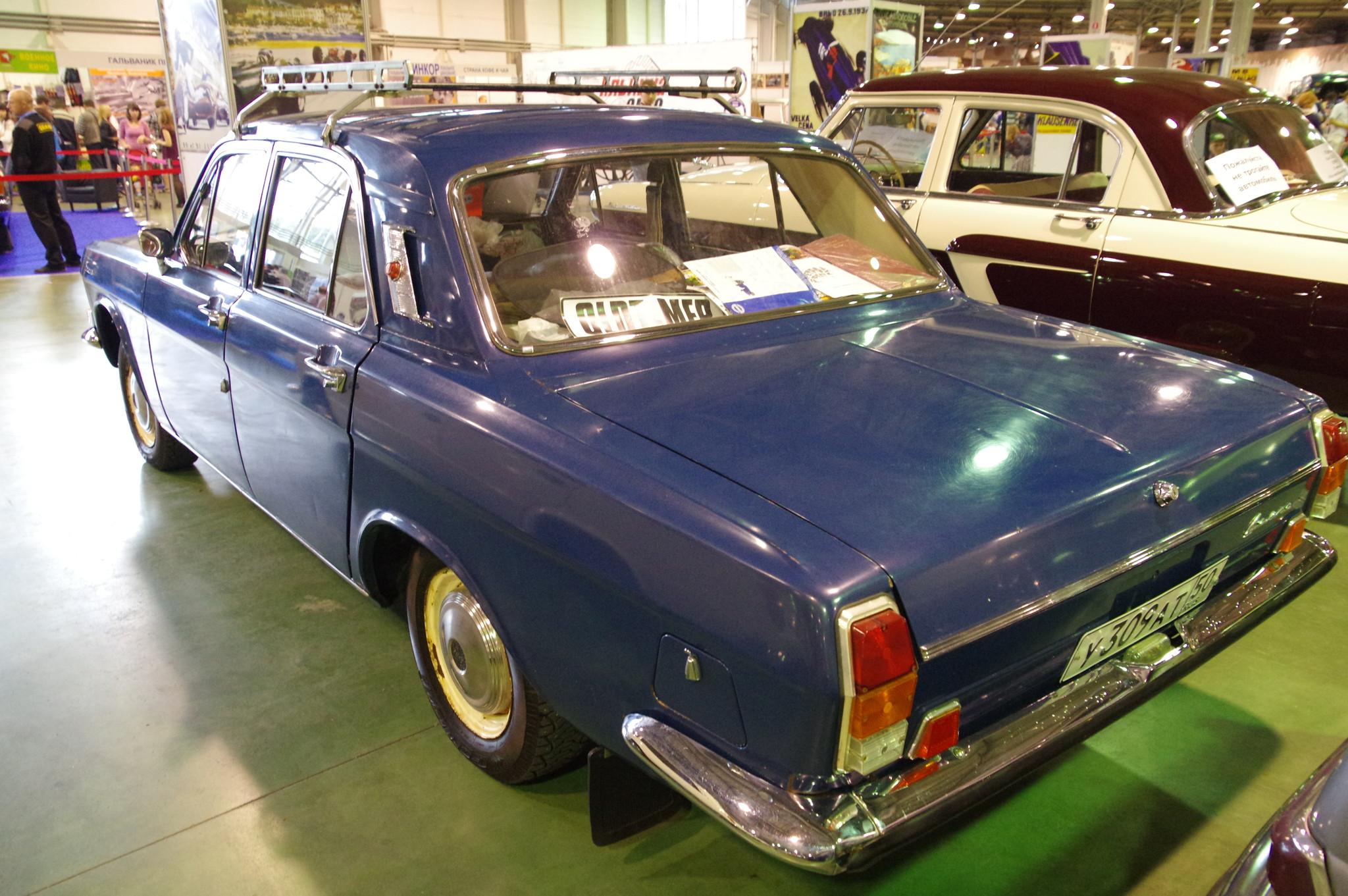 Автомобиль ГАЗ-24 «Волга» 1975 года выпуска
