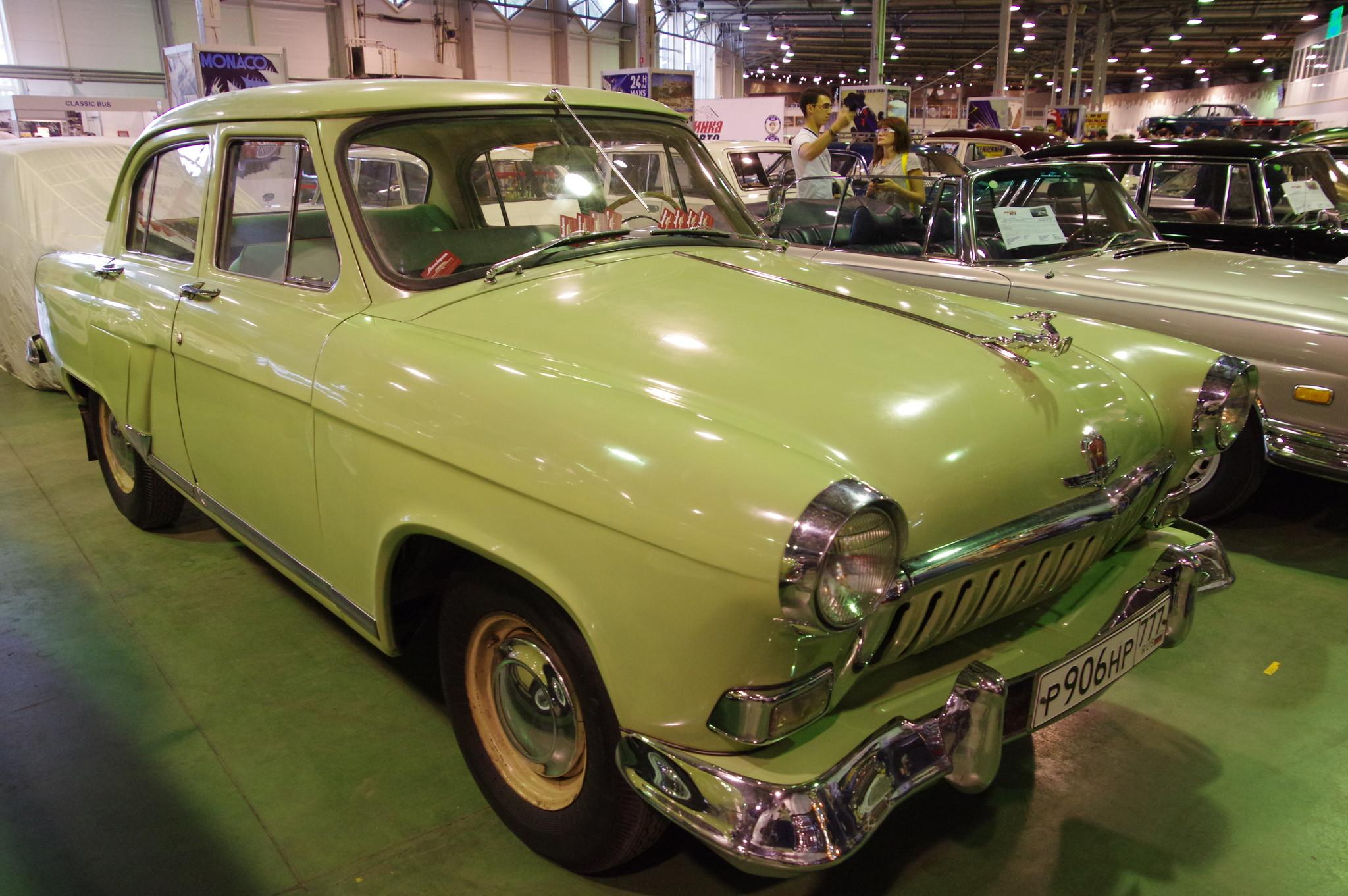 Автомобиль ГАЗ-21 «Волга»