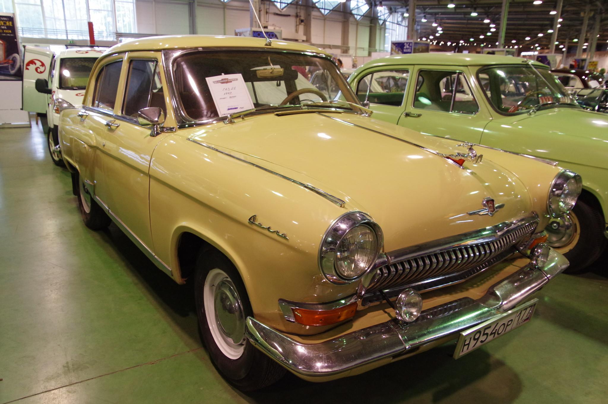 Автомобиль ГАЗ-21 «Волга» 1967 года выпуска