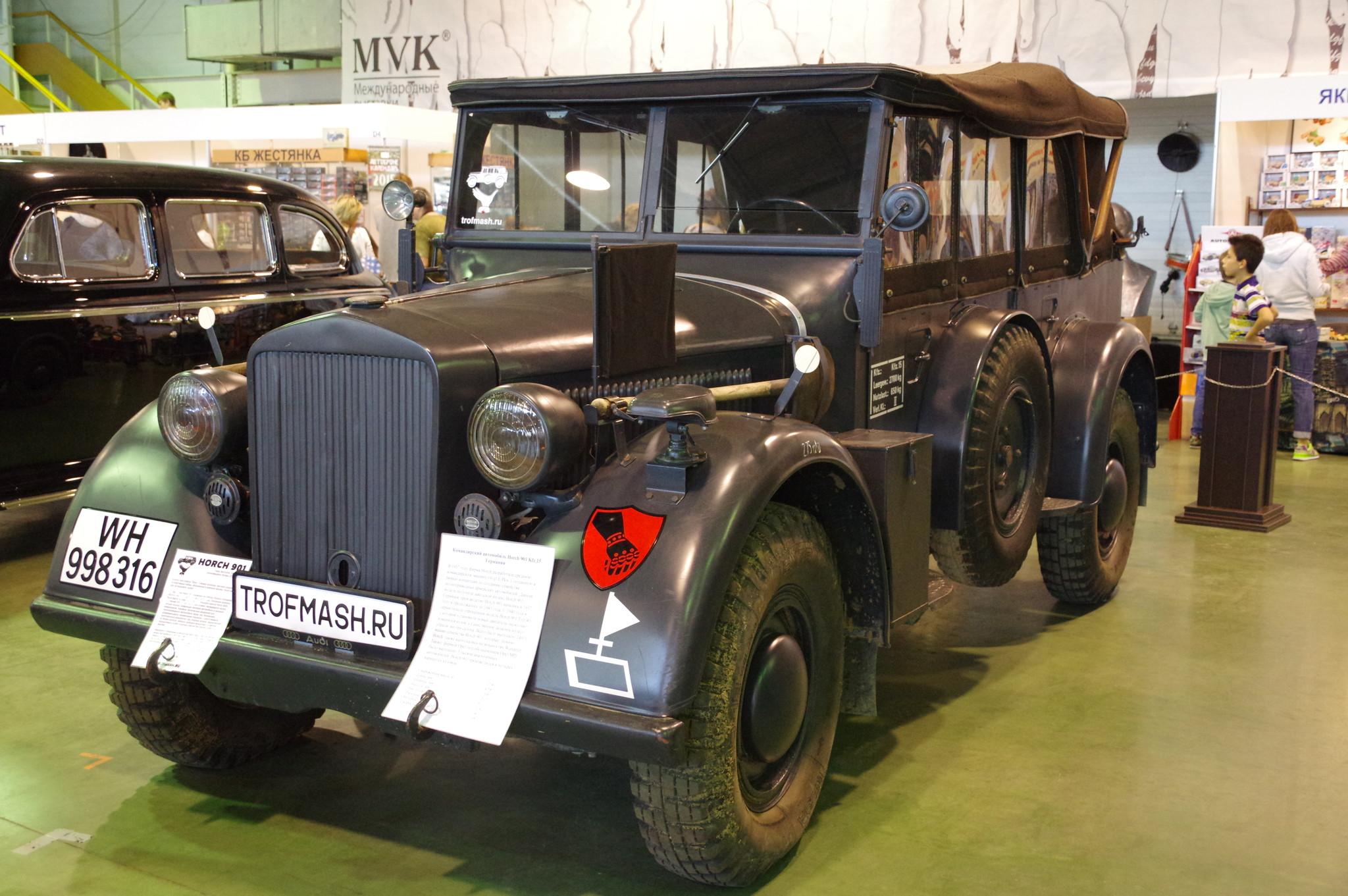 Командирский автомобиль Horch 901 Kfz.15