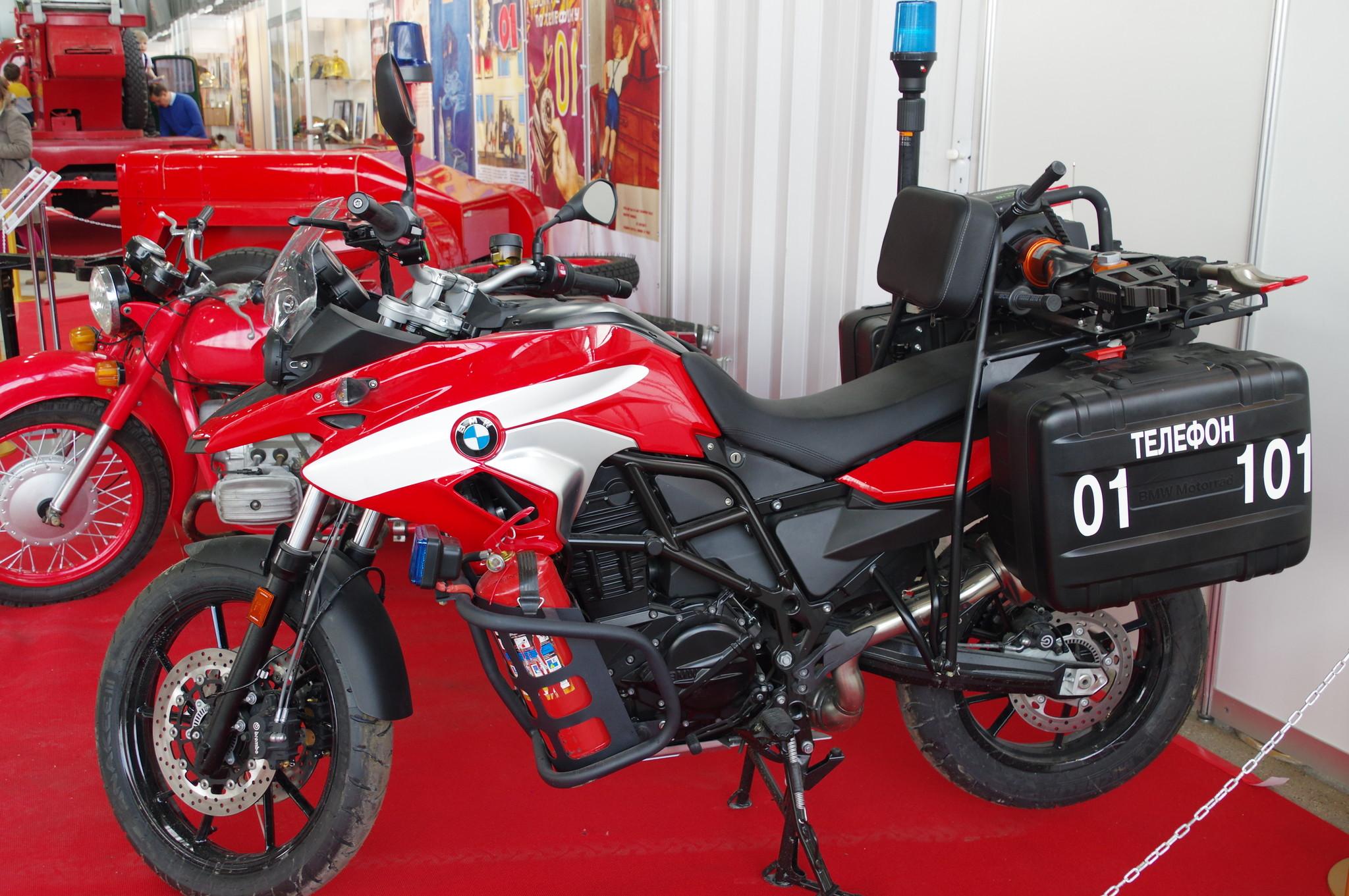 Пожарный мотоцикл BMW