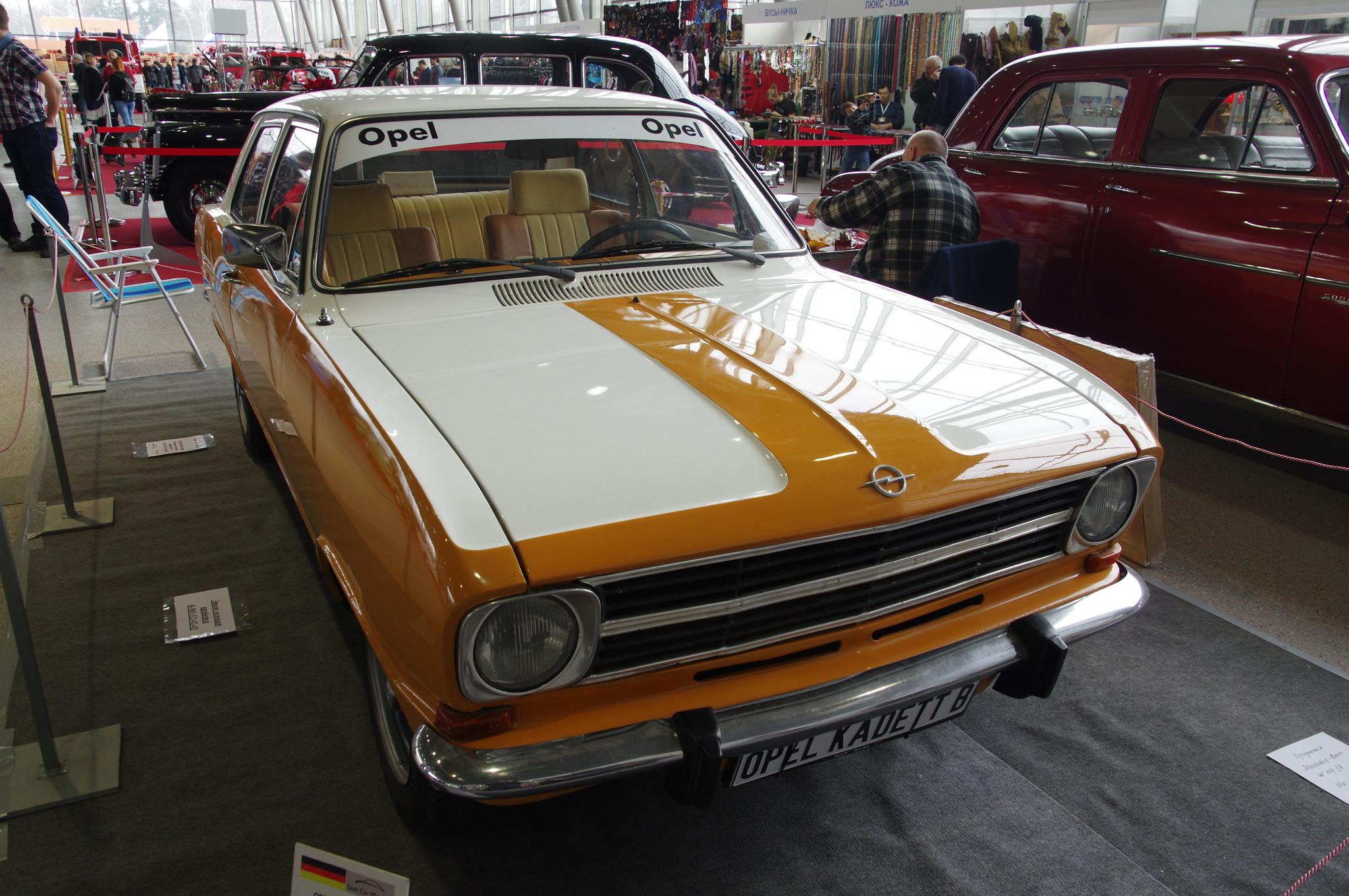Автомобиль Opel Kadett B 1972 г.