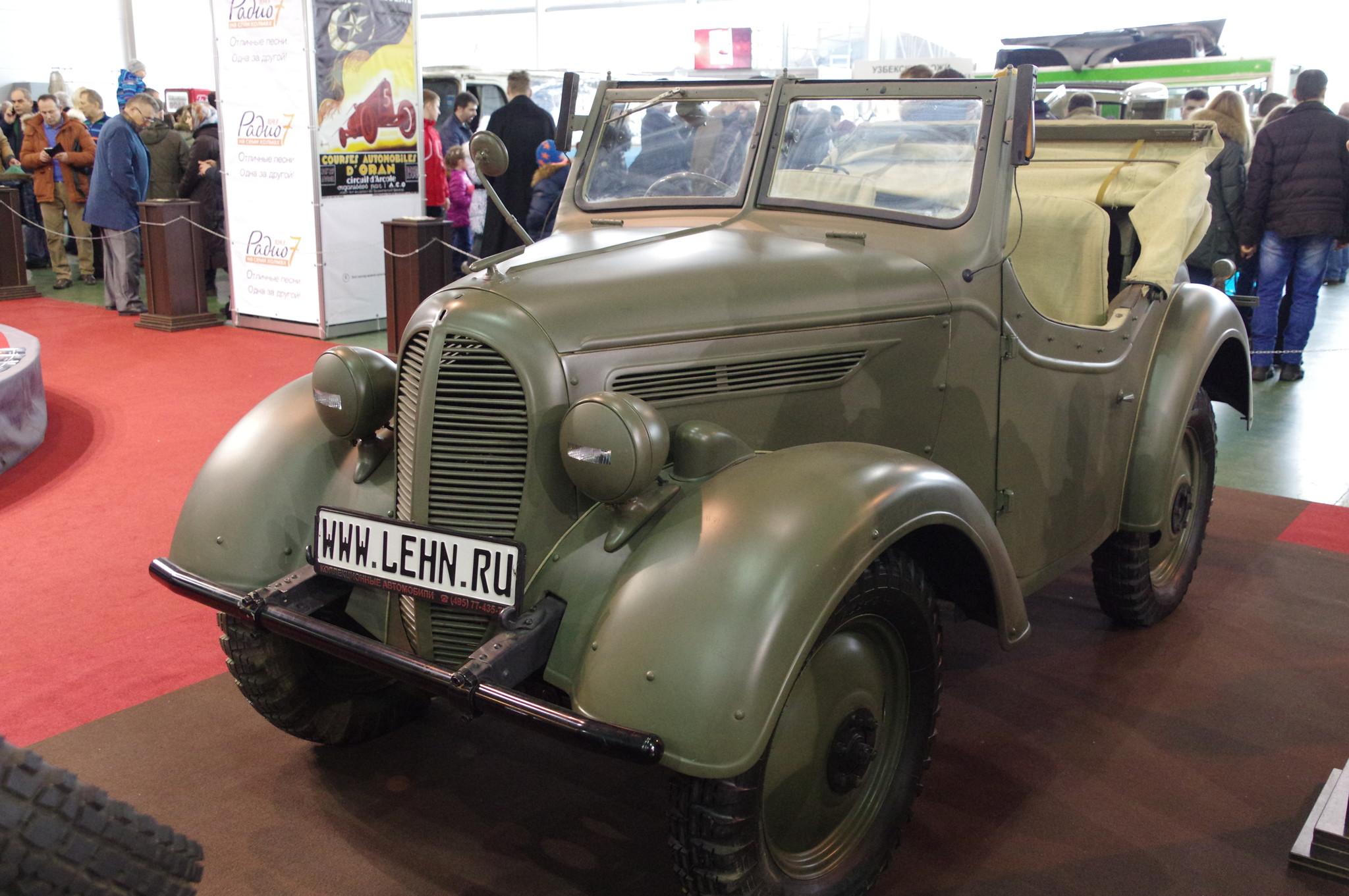 Командирский автомобиль Kurogane Type 95 (Япония)