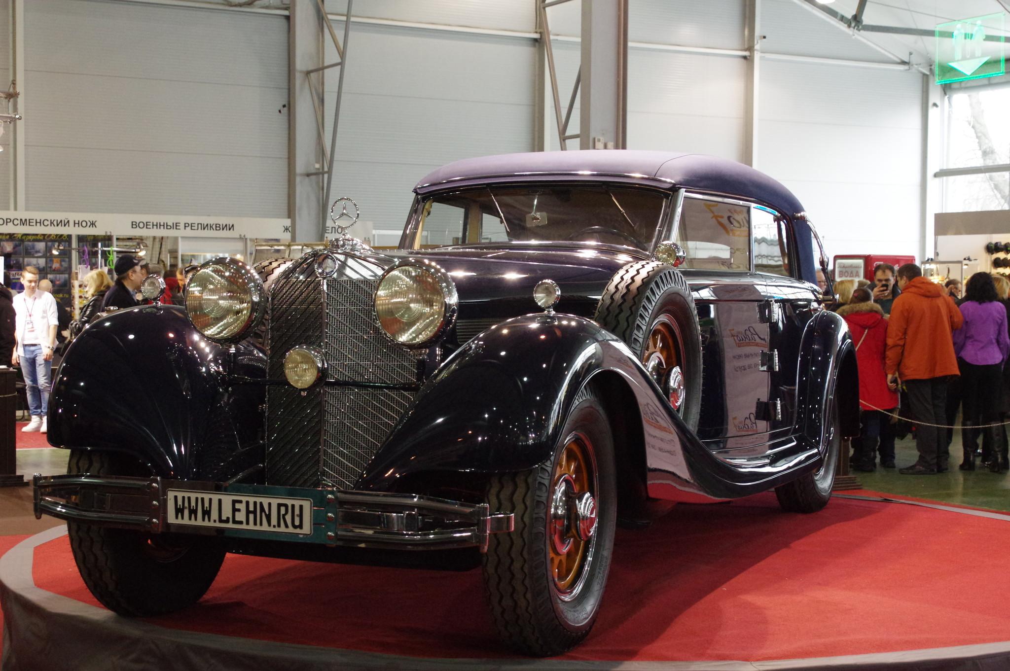 25-я выставка старинных автомобилей «Олдтаймер-Галерея» 2016 года в КВЦ «Сокольники»
