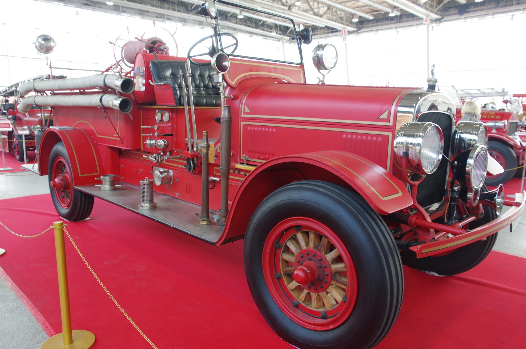 Пожарный автомобиль Seagrave Model 6 WT Standart. 1929 г.