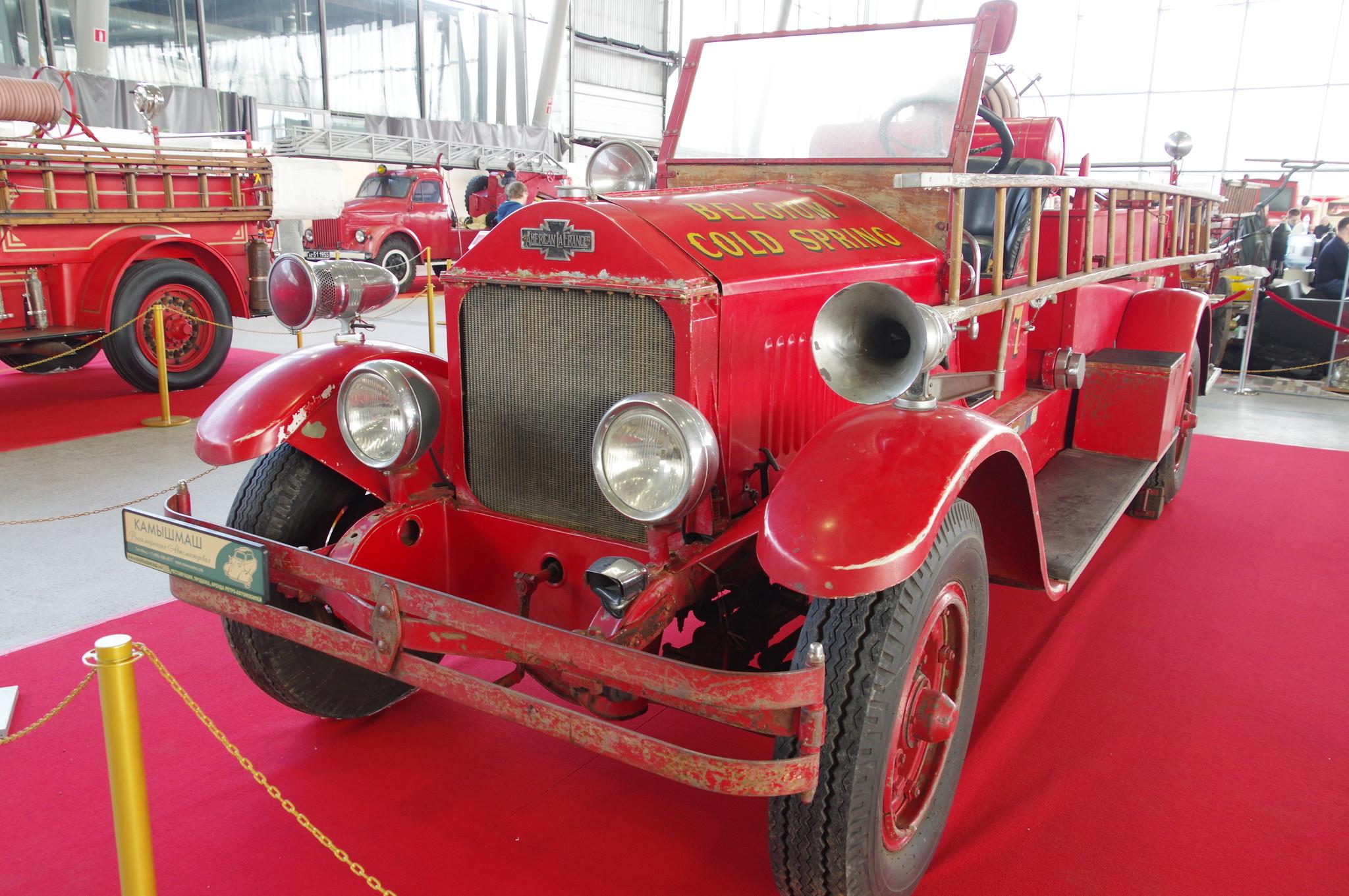 Пожарная машина American-LaFrance. 1925 г.