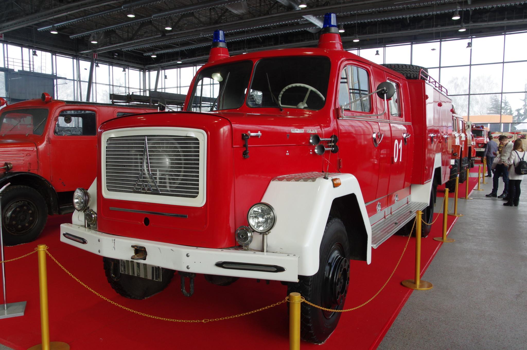Пожарная машина Magirus-Deutz 150 D10 (1966 г.)