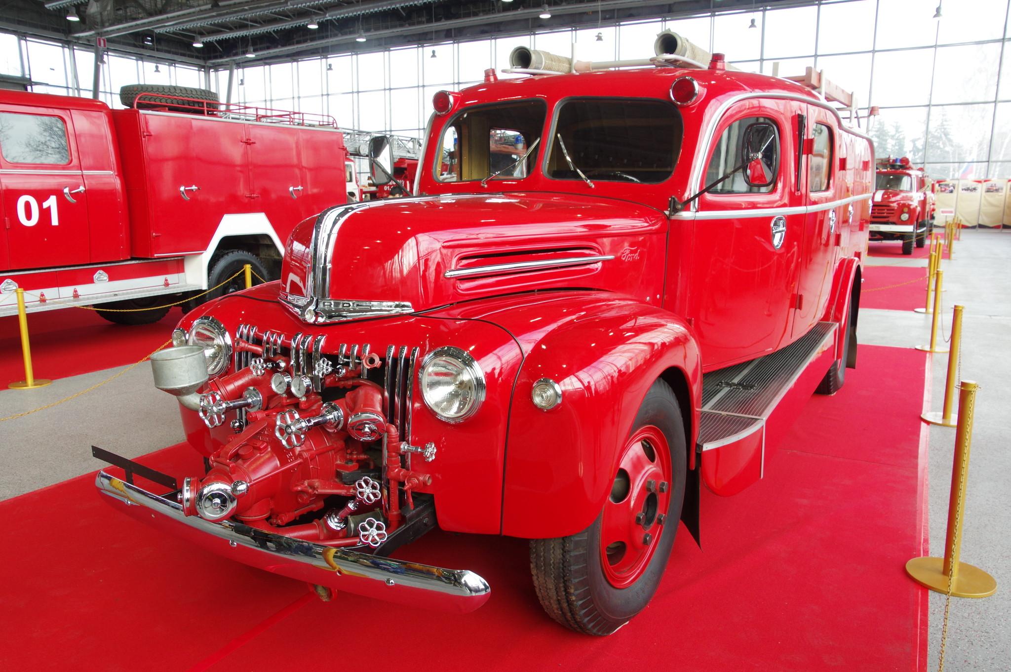 Пожарный автомобиль Ford 798T (1947 г.)