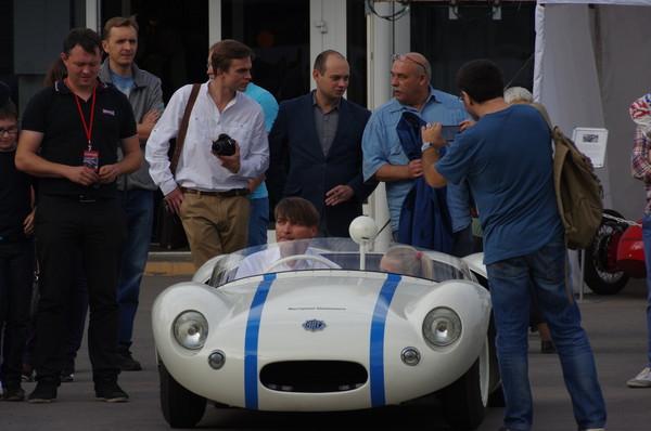 На 24-й выставке старинных автомобилей и антиквариата «Олдтаймер-Галерея»