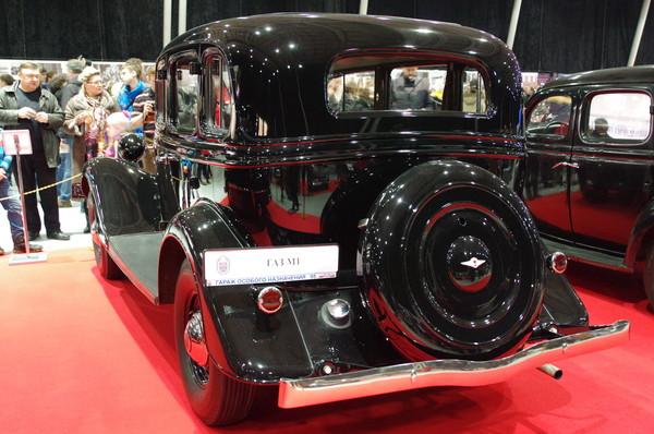 Легковой автомобиль ГАЗ-М-1 «Эмка»
