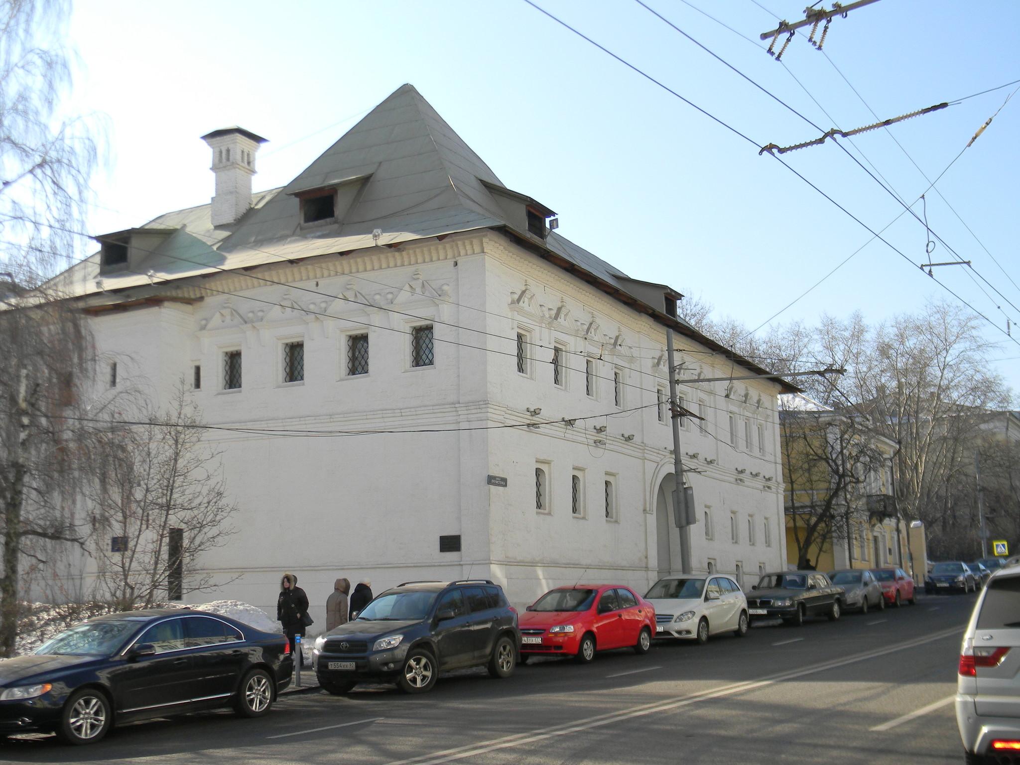 Белые палаты на улице Пречистенке (улица Пречистенка, дом 3, строение 1)
