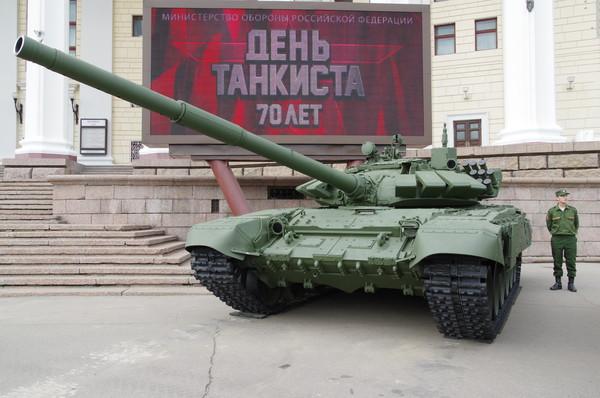 Т-72Б (Объект 184) — основной боевой танк семейства Т-72